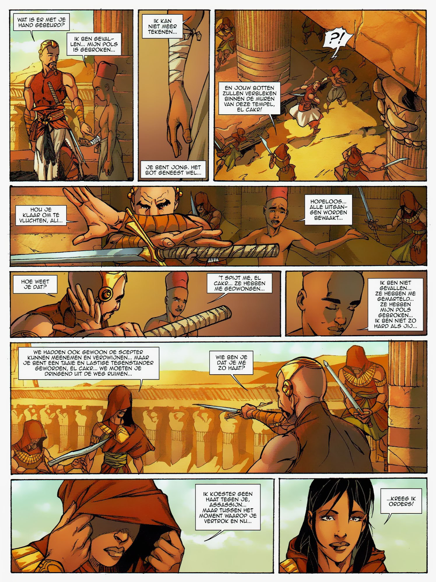 Read online Assassin's Creed (2009) comic -  Issue #6 - 24