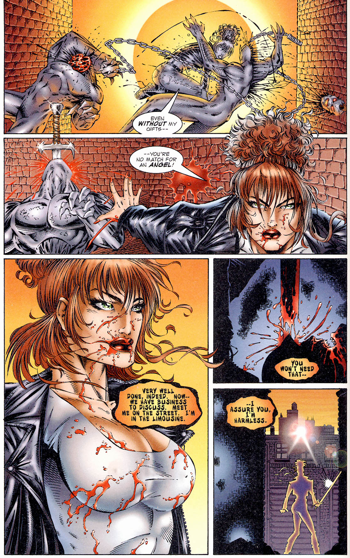 Read online Avengelyne (1995) comic -  Issue #1 - 20