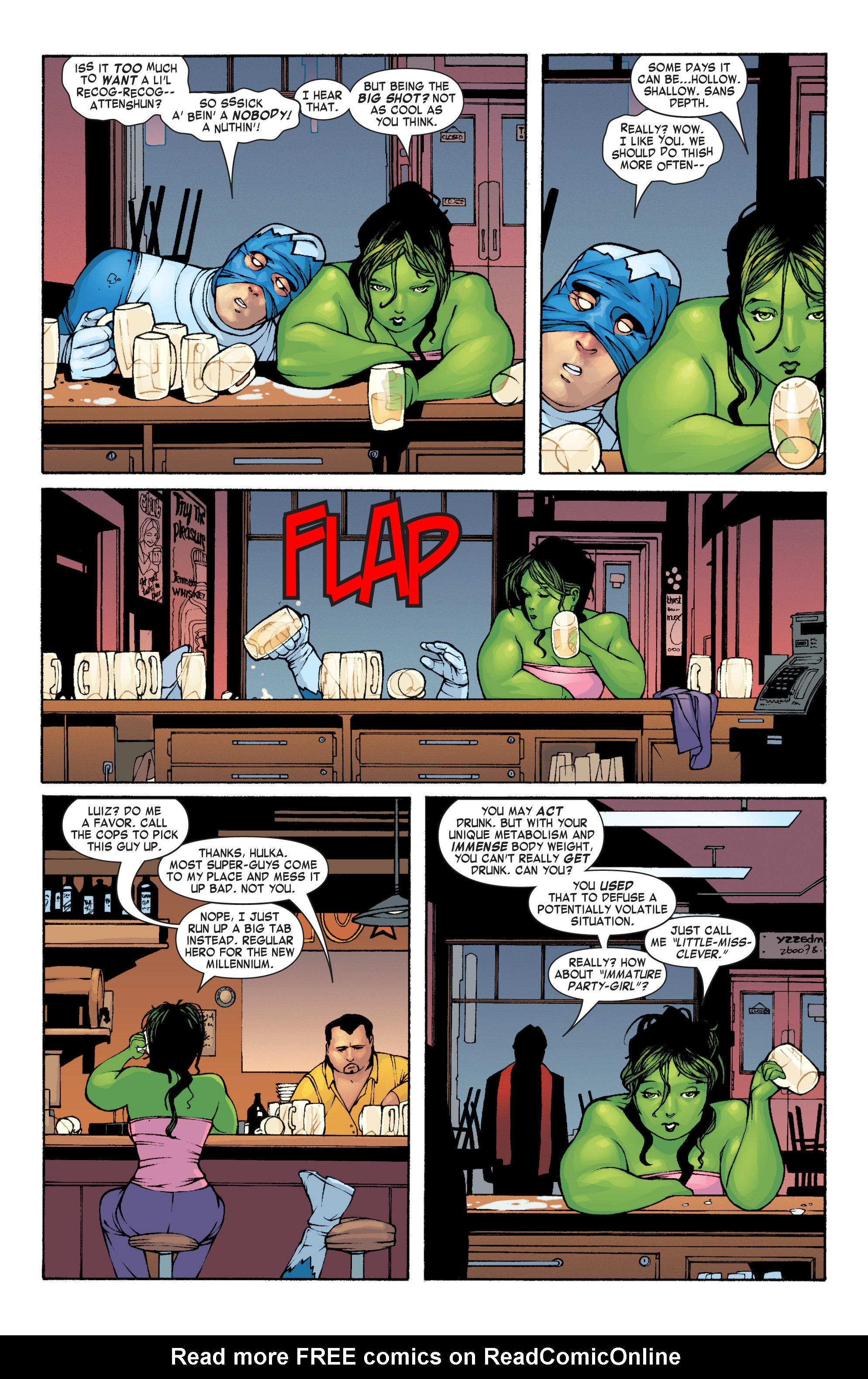 Read online She-Hulk (2004) comic -  Issue #1 - 21