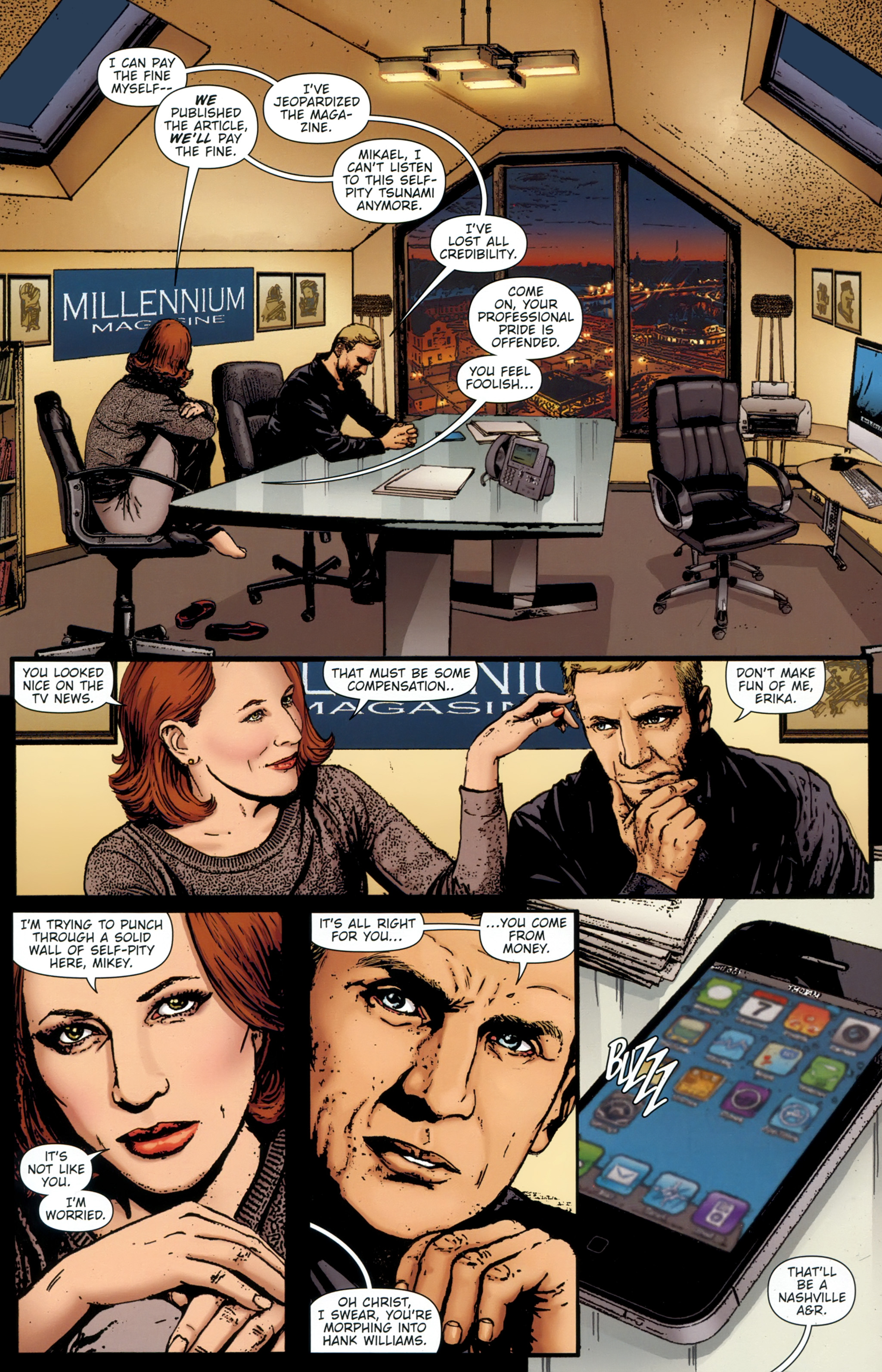 Read online The Girl With the Dragon Tattoo comic -  Issue # TPB 1 - 26