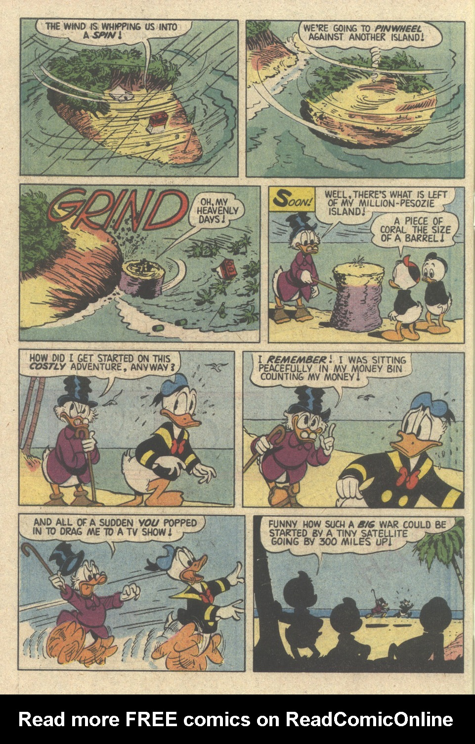 Read online Uncle Scrooge (1953) comic -  Issue #239 - 34