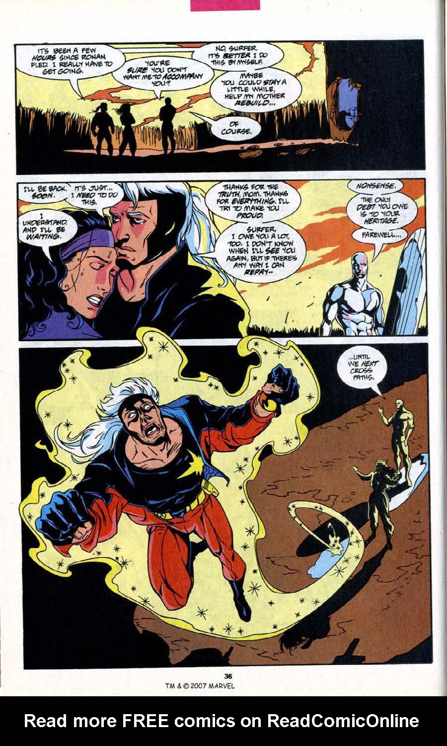 Read online Silver Surfer (1987) comic -  Issue # _Annual 6 - 38