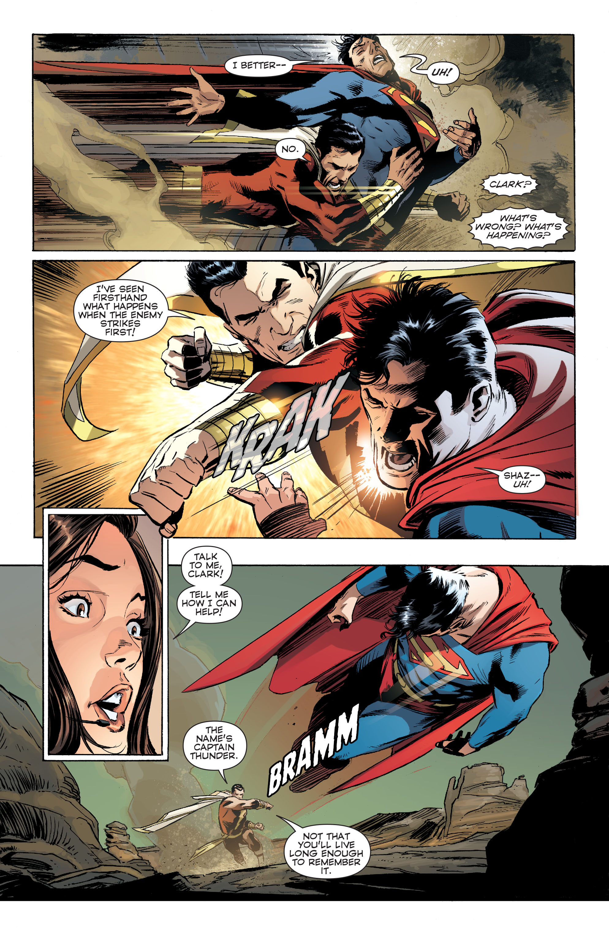 Read online Convergence Superman comic -  Issue #1 - 17