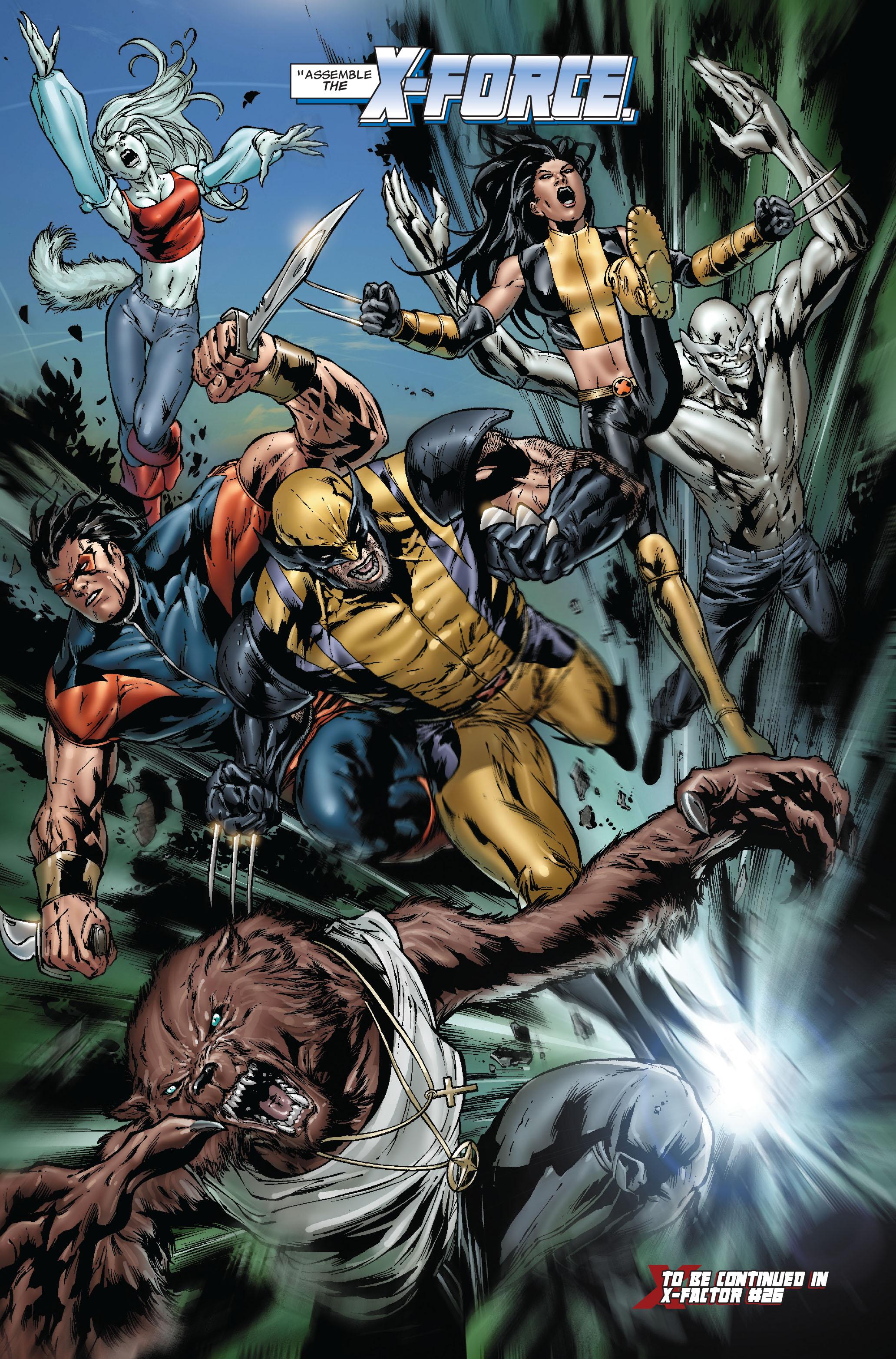 Read online Uncanny X-Men (1963) comic -  Issue #493 - 25