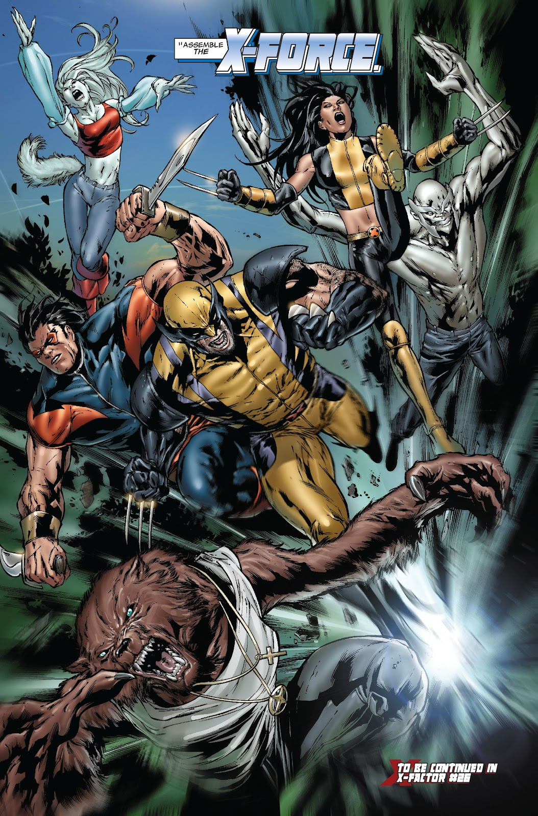 Uncanny X-Men (1963) issue 493 - Page 25