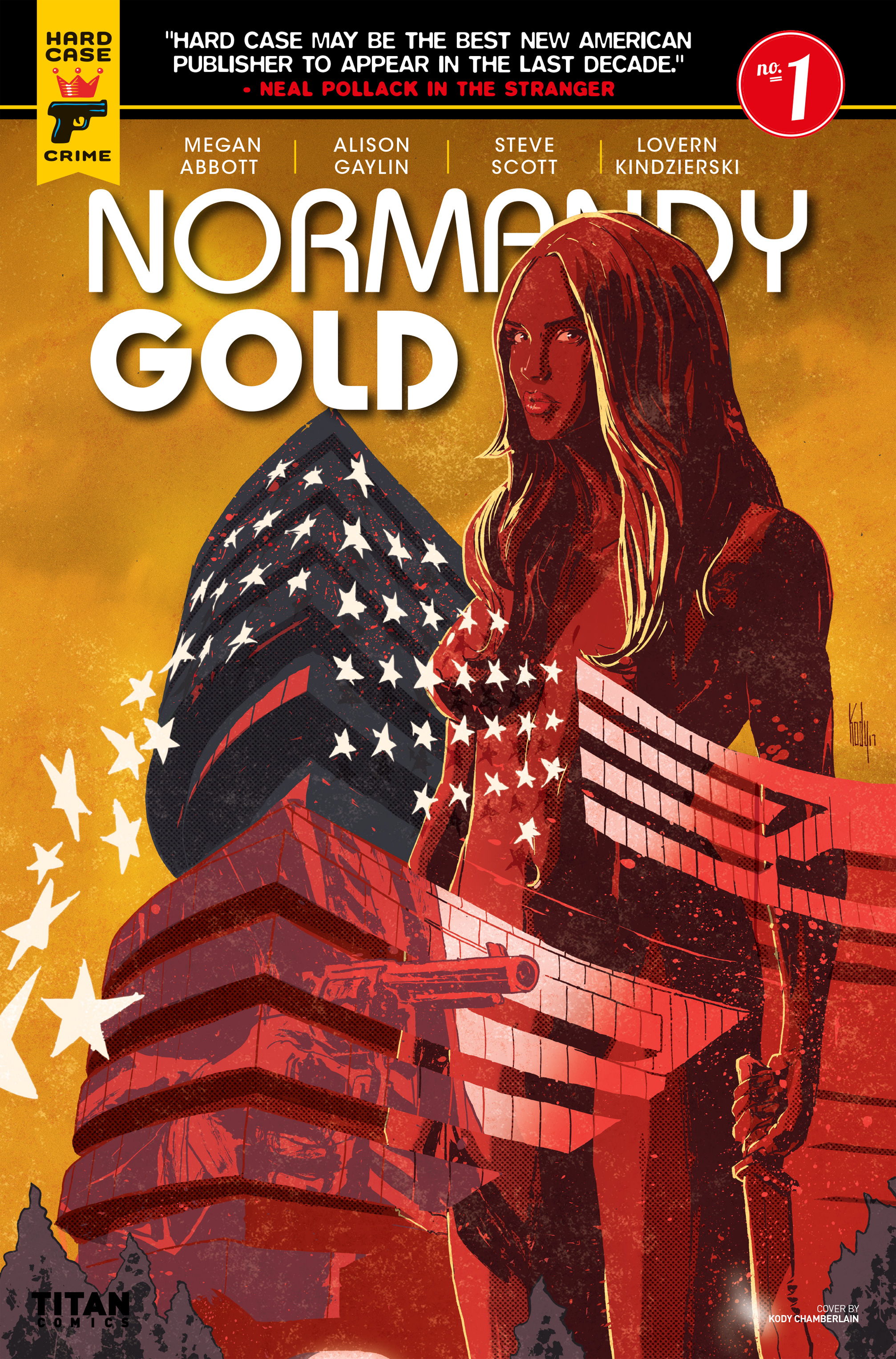 Read online Normandy Gold comic -  Issue #1 - 4