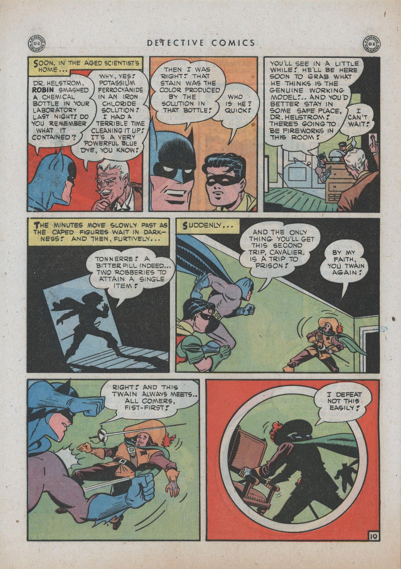 Read online Detective Comics (1937) comic -  Issue #89 - 12