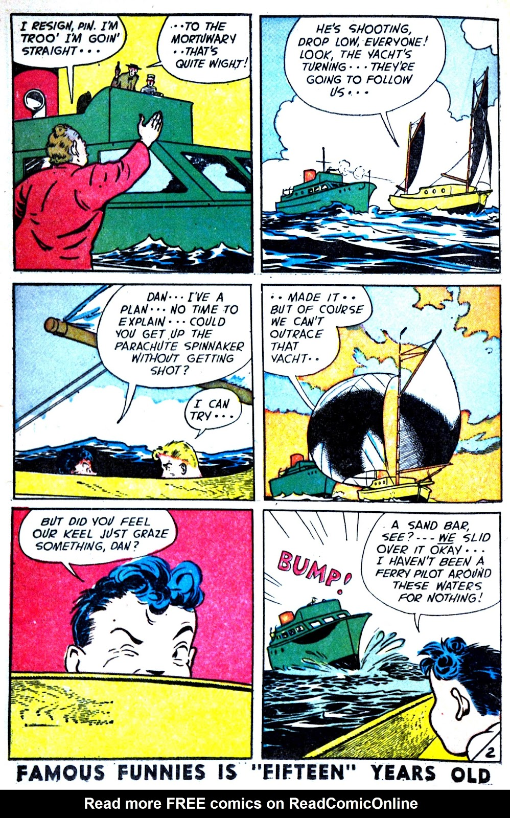 Read online Famous Funnies comic -  Issue #180 - 22