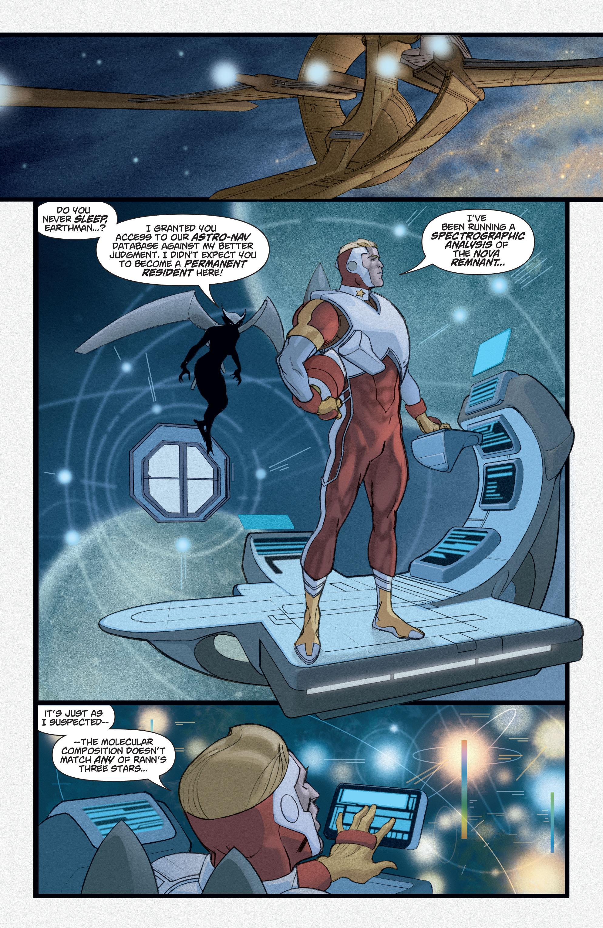 Read online Adam Strange (2004) comic -  Issue #3 - 10