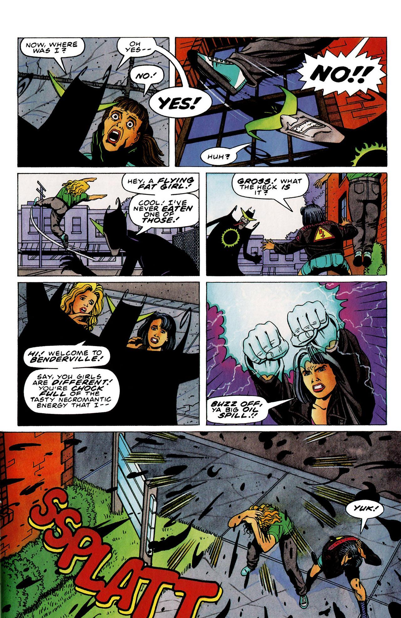 Read online Harbinger (1992) comic -  Issue #33 - 10