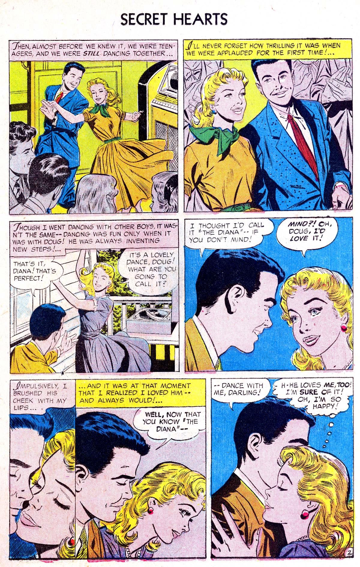 Read online Secret Hearts comic -  Issue #38 - 11