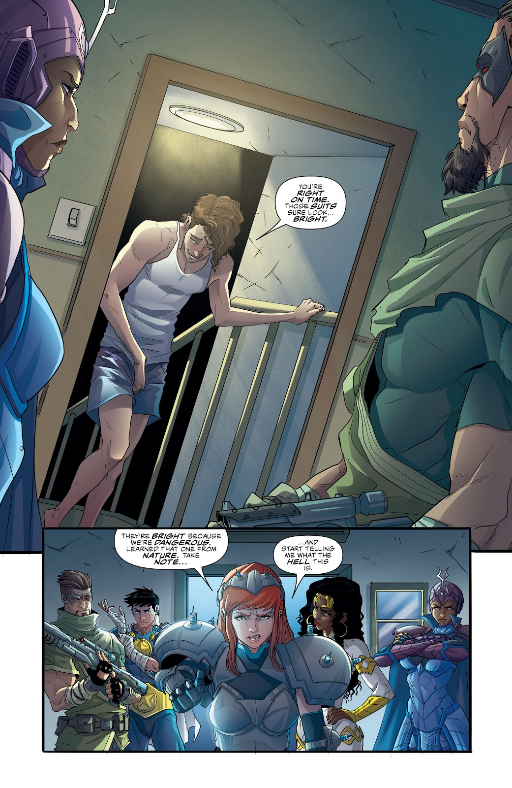 Commanders In Crisis issue 4 - Page 4