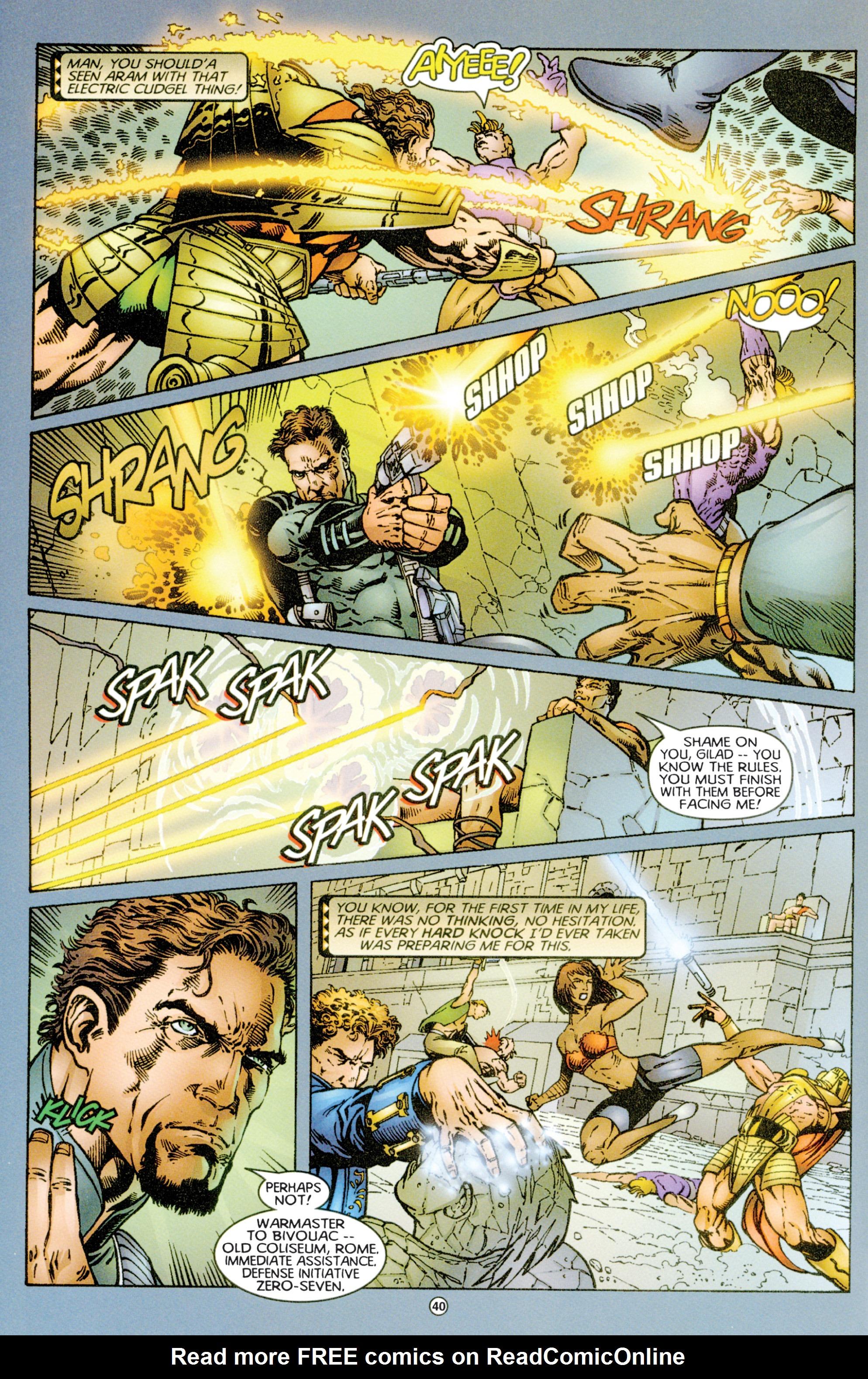Read online Eternal Warriors comic -  Issue # Issue Time & Treachery - 39