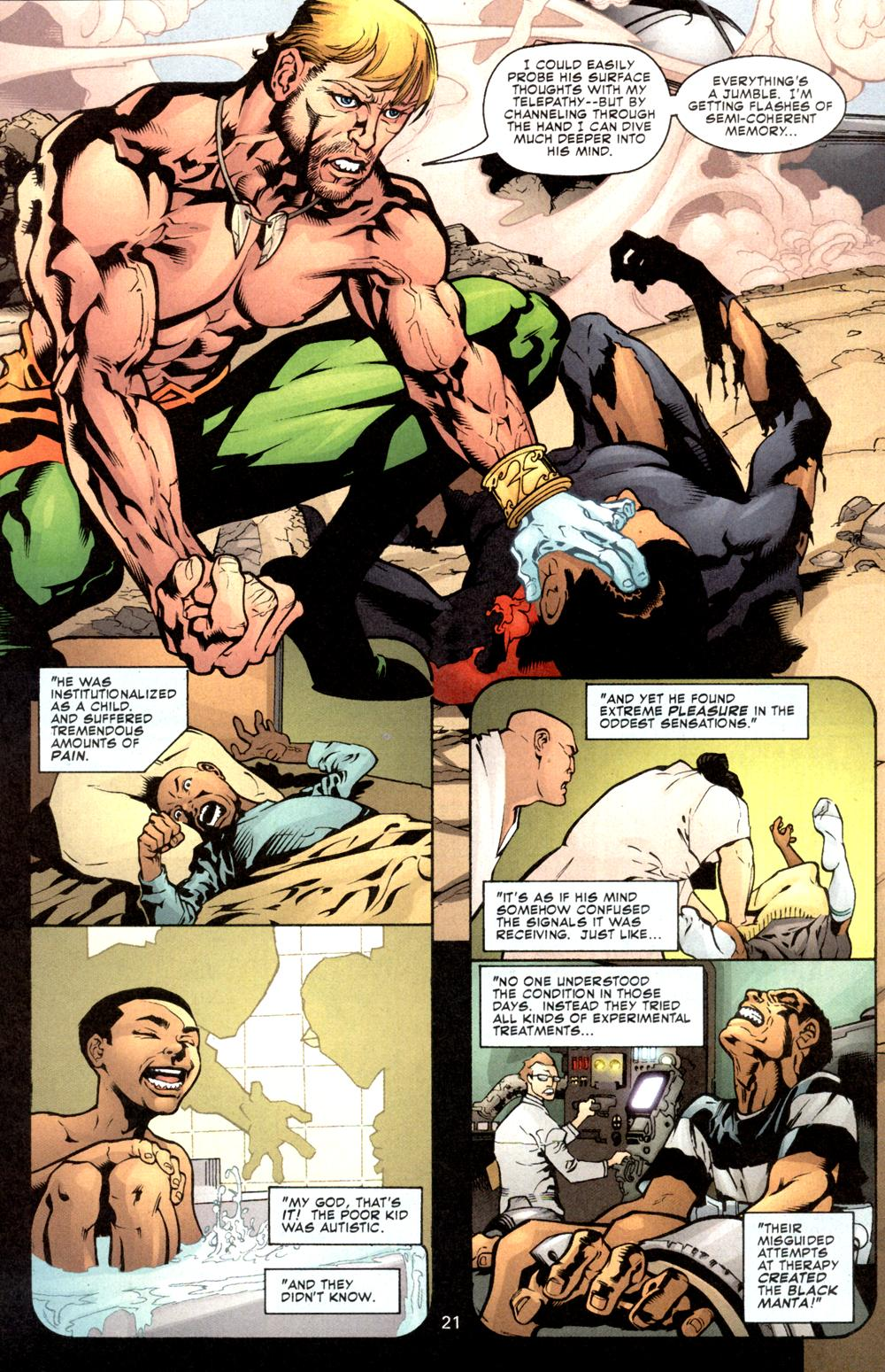 Read online Aquaman (2003) comic -  Issue #8 - 22