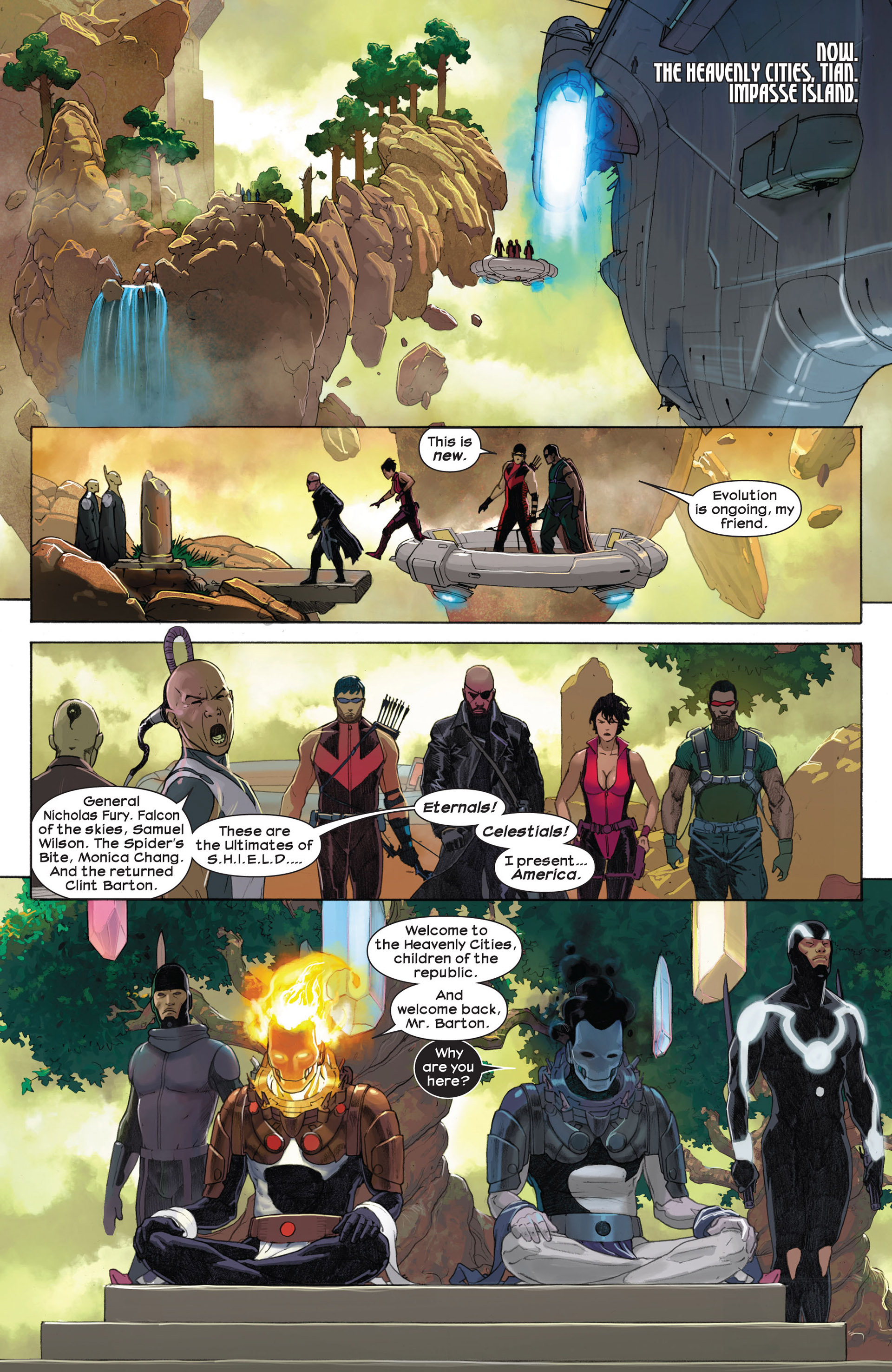 Read online Ultimate Comics Ultimates comic -  Issue #7 - 9