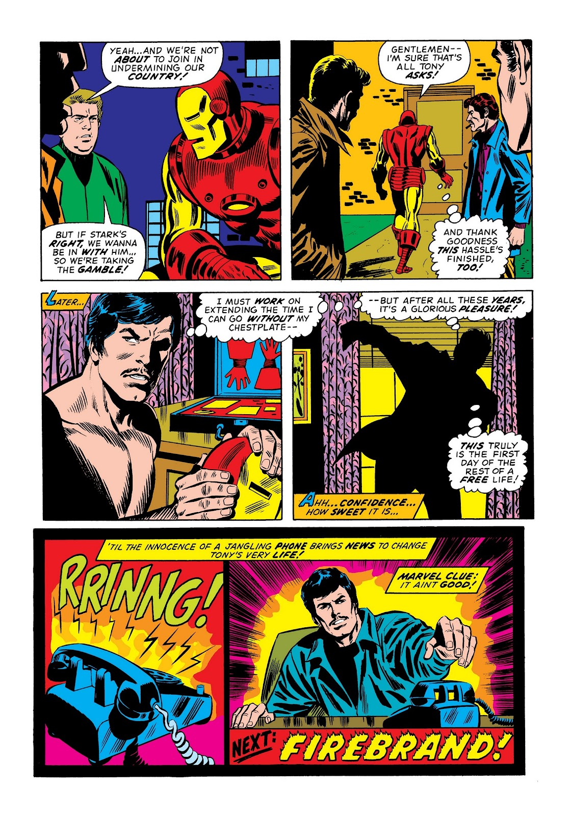 Read online Marvel Masterworks: The Invincible Iron Man comic -  Issue # TPB 9 (Part 2) - 11