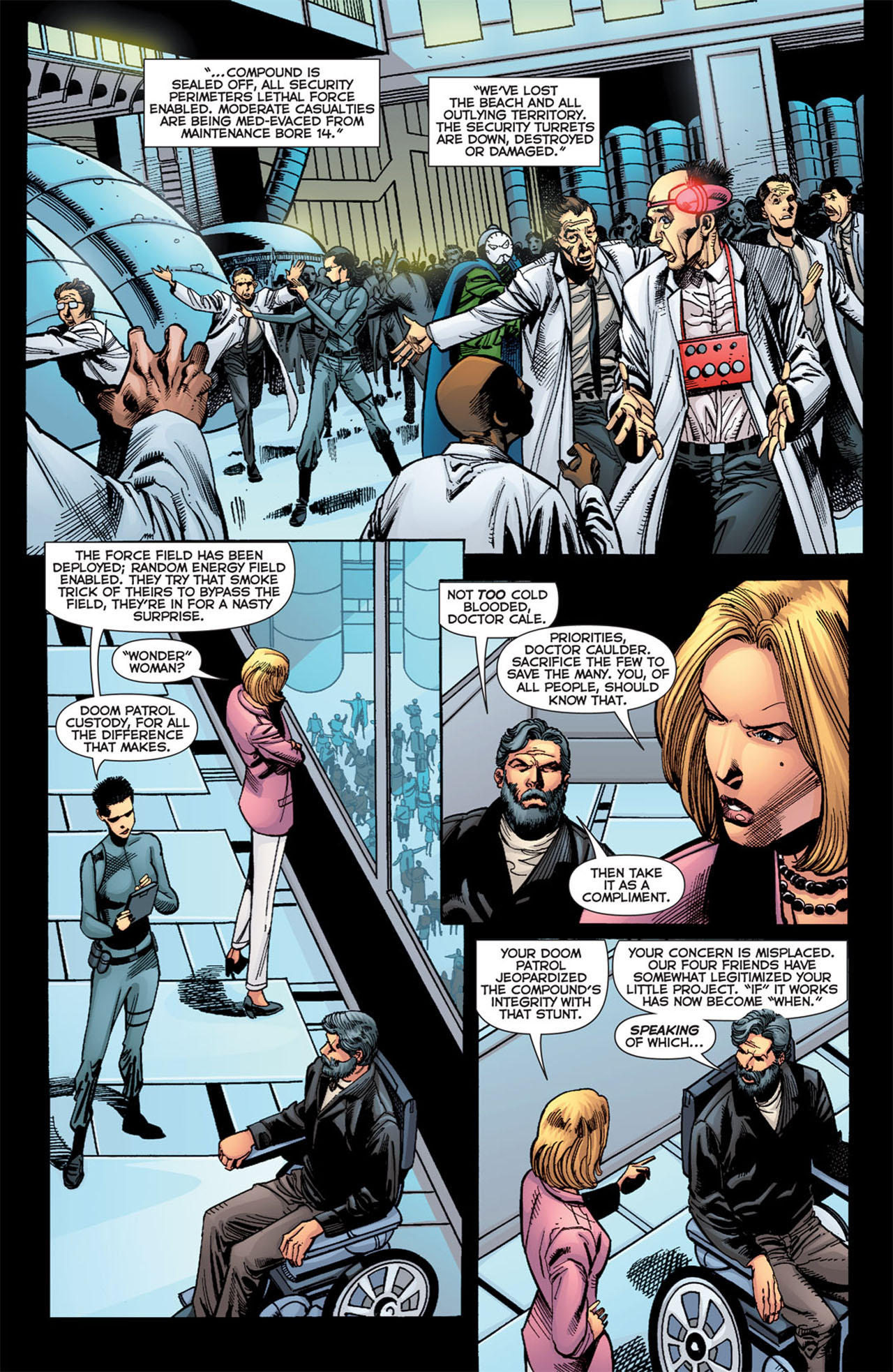 Read online 52 Aftermath: The Four Horsemen comic -  Issue #4 - 8