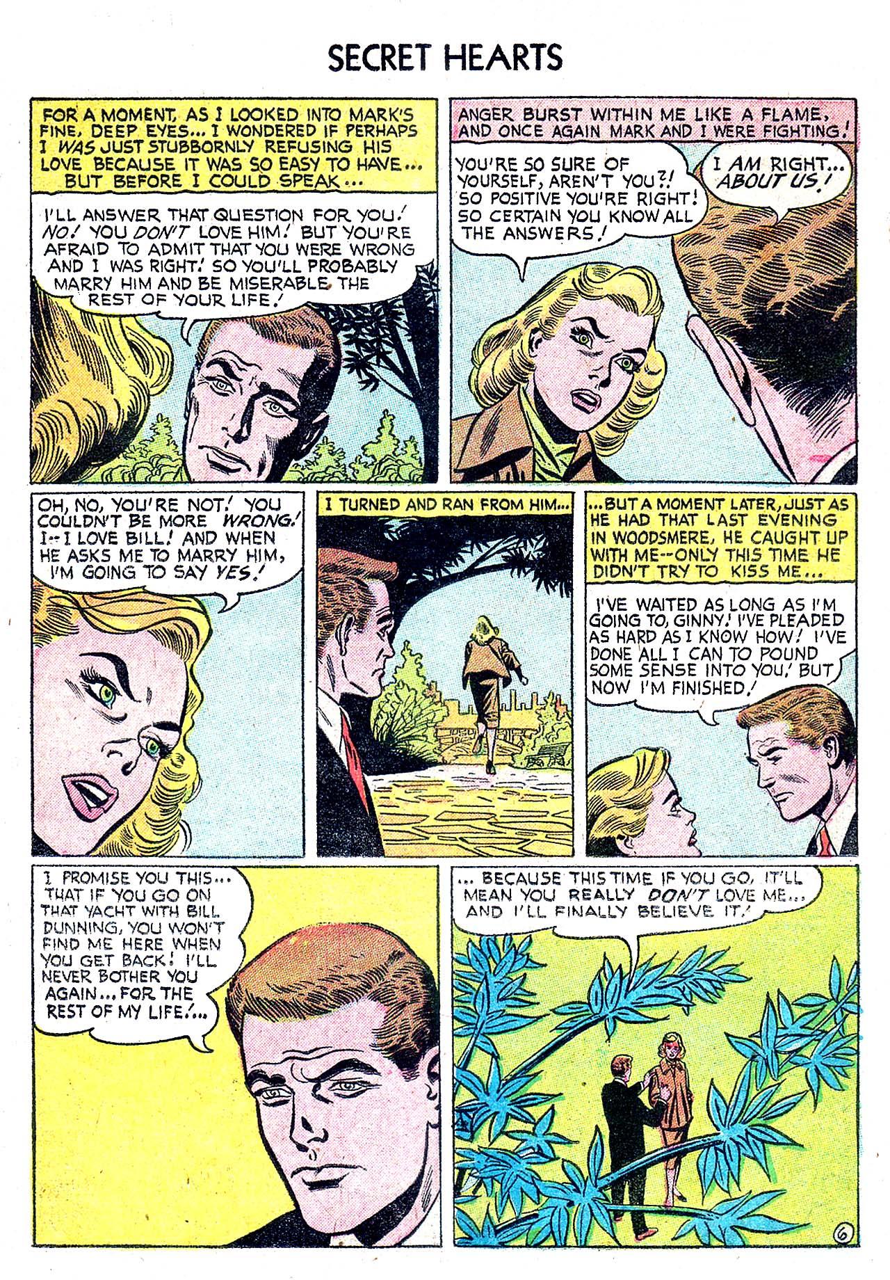 Read online Secret Hearts comic -  Issue #32 - 15