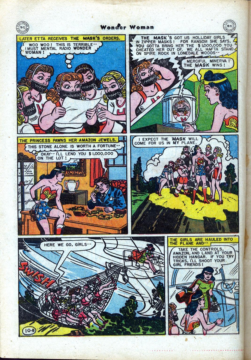 Read online Wonder Woman (1942) comic -  Issue #24 - 30