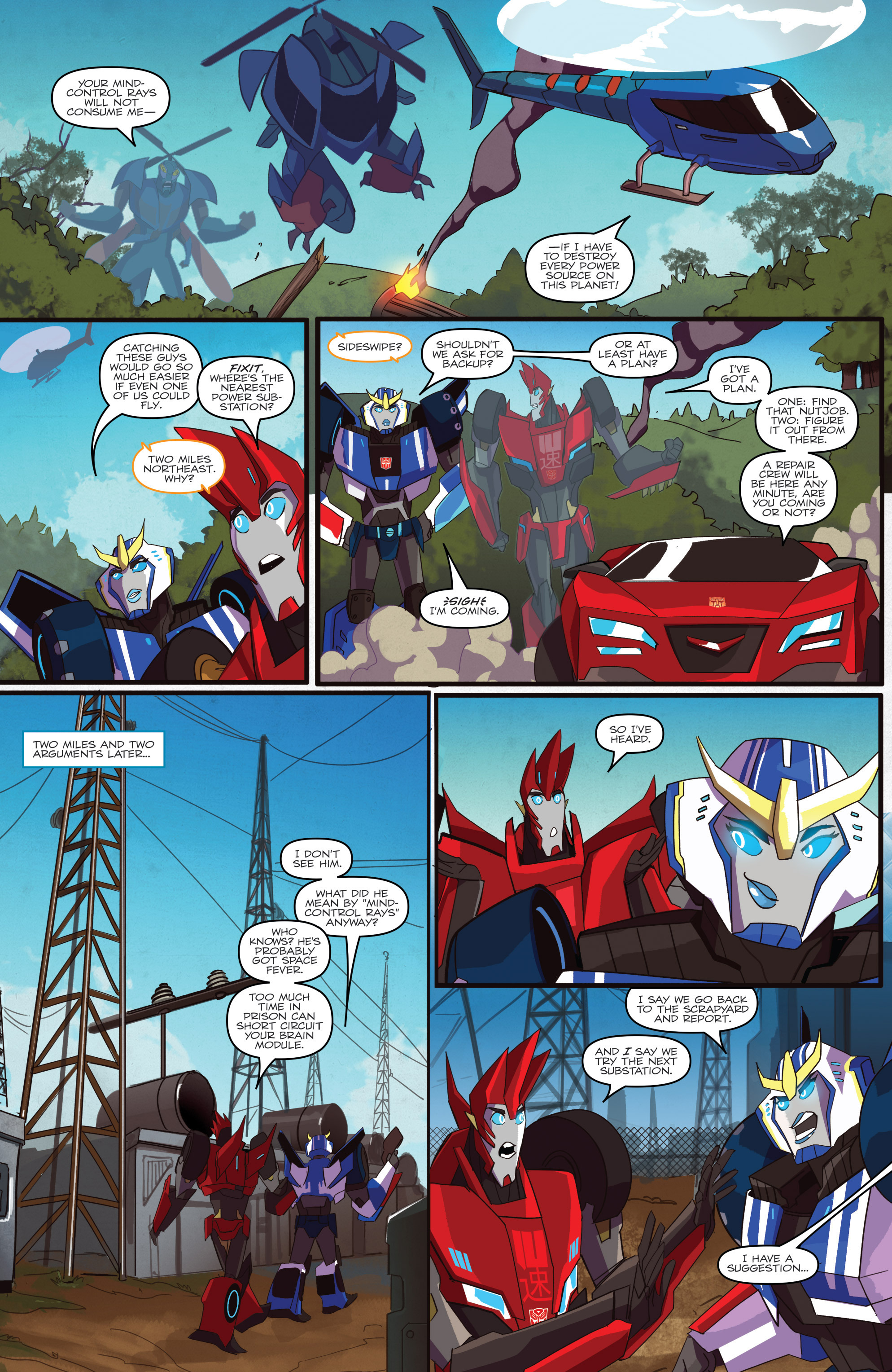 Read online Transformers: Robots In Disguise (2015) comic -  Issue #1 - 10
