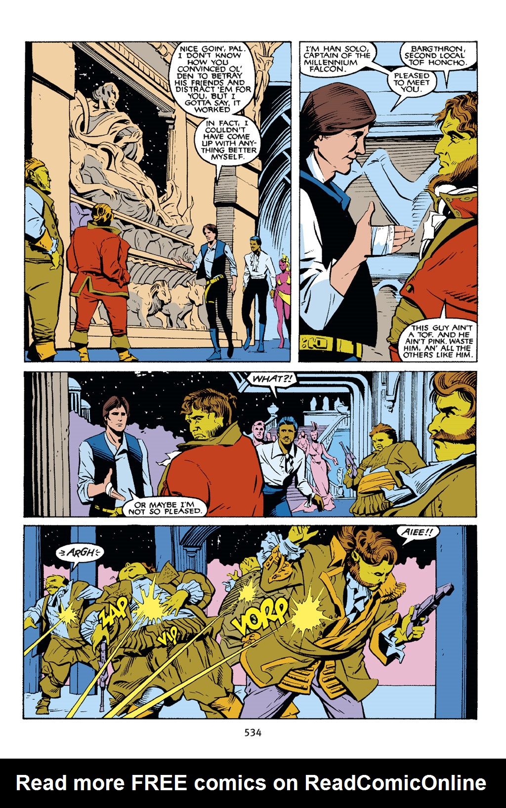 Read online Star Wars Omnibus comic -  Issue # Vol. 21.5 - 257