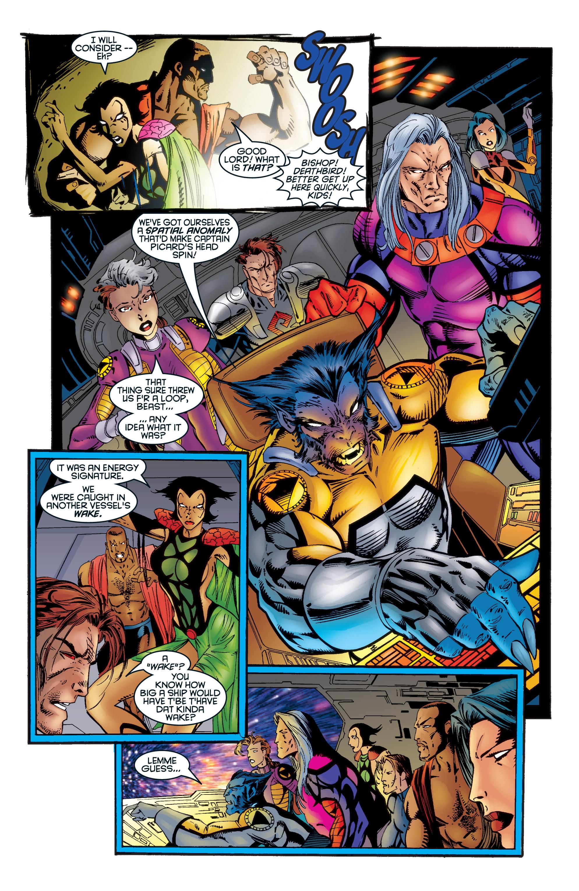 Read online Uncanny X-Men (1963) comic -  Issue #345 - 21