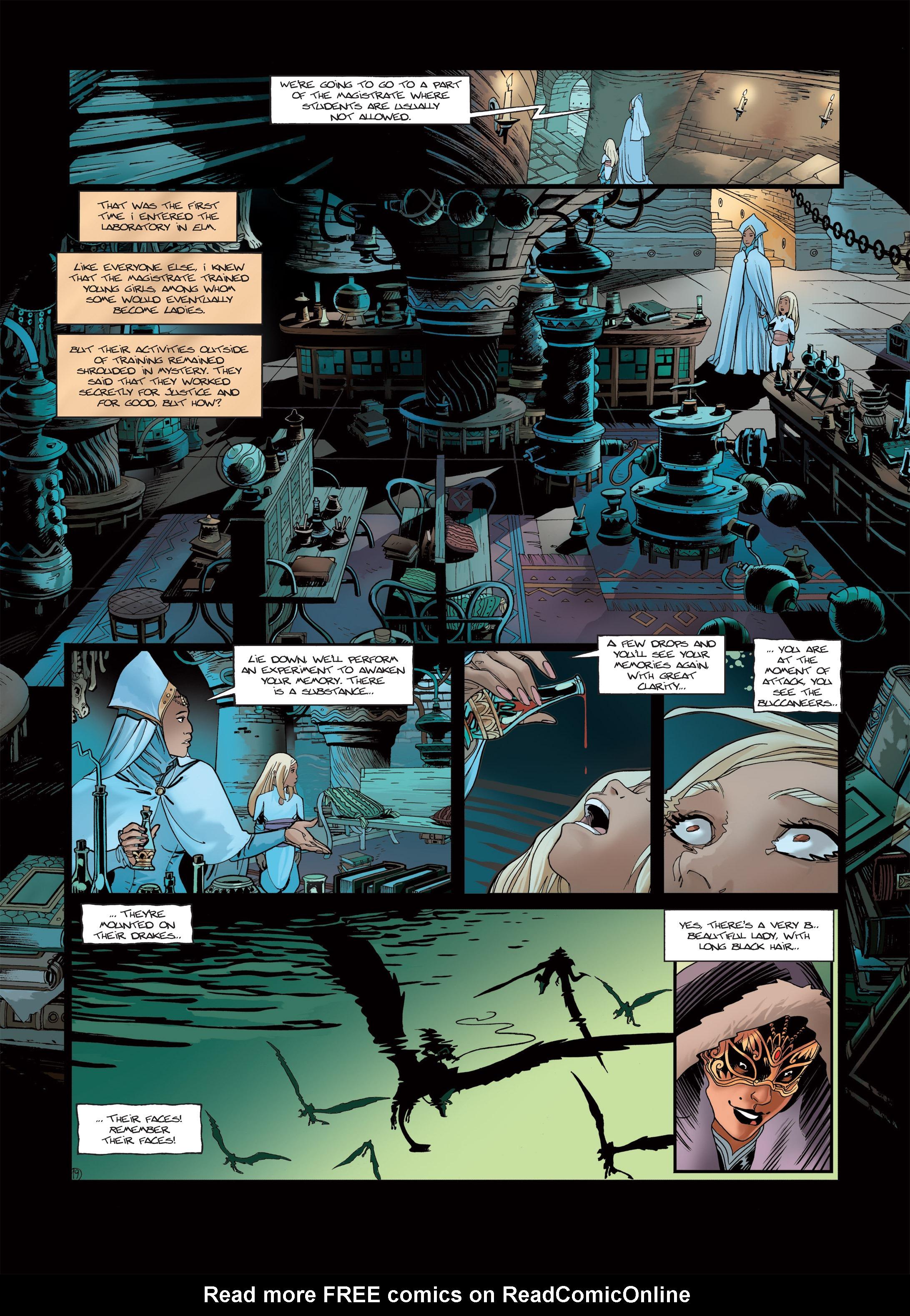Read online Sangre Vol. 1: Sangre the Survivor comic -  Issue # Full - 21