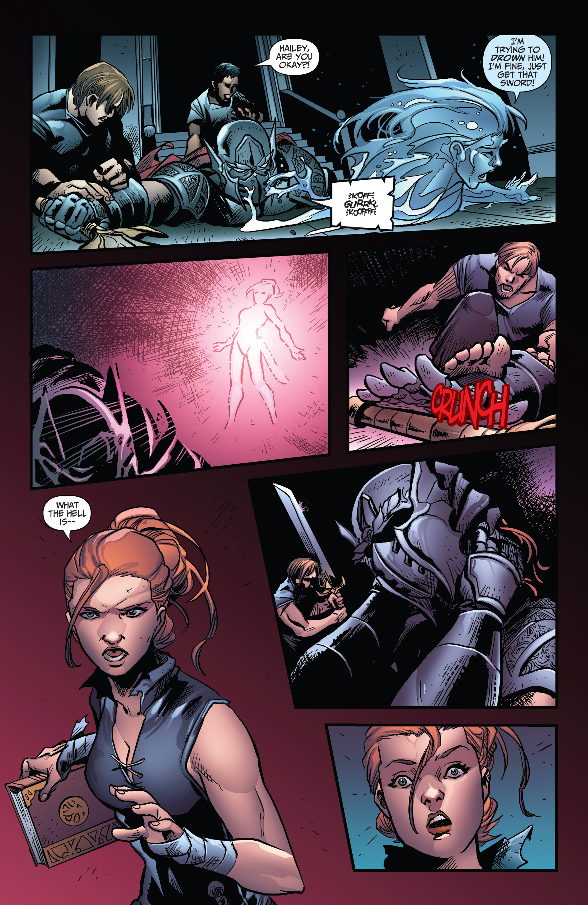 Read online Grimm Fairy Tales: Arcane Acre comic -  Issue # TPB 3 - 112