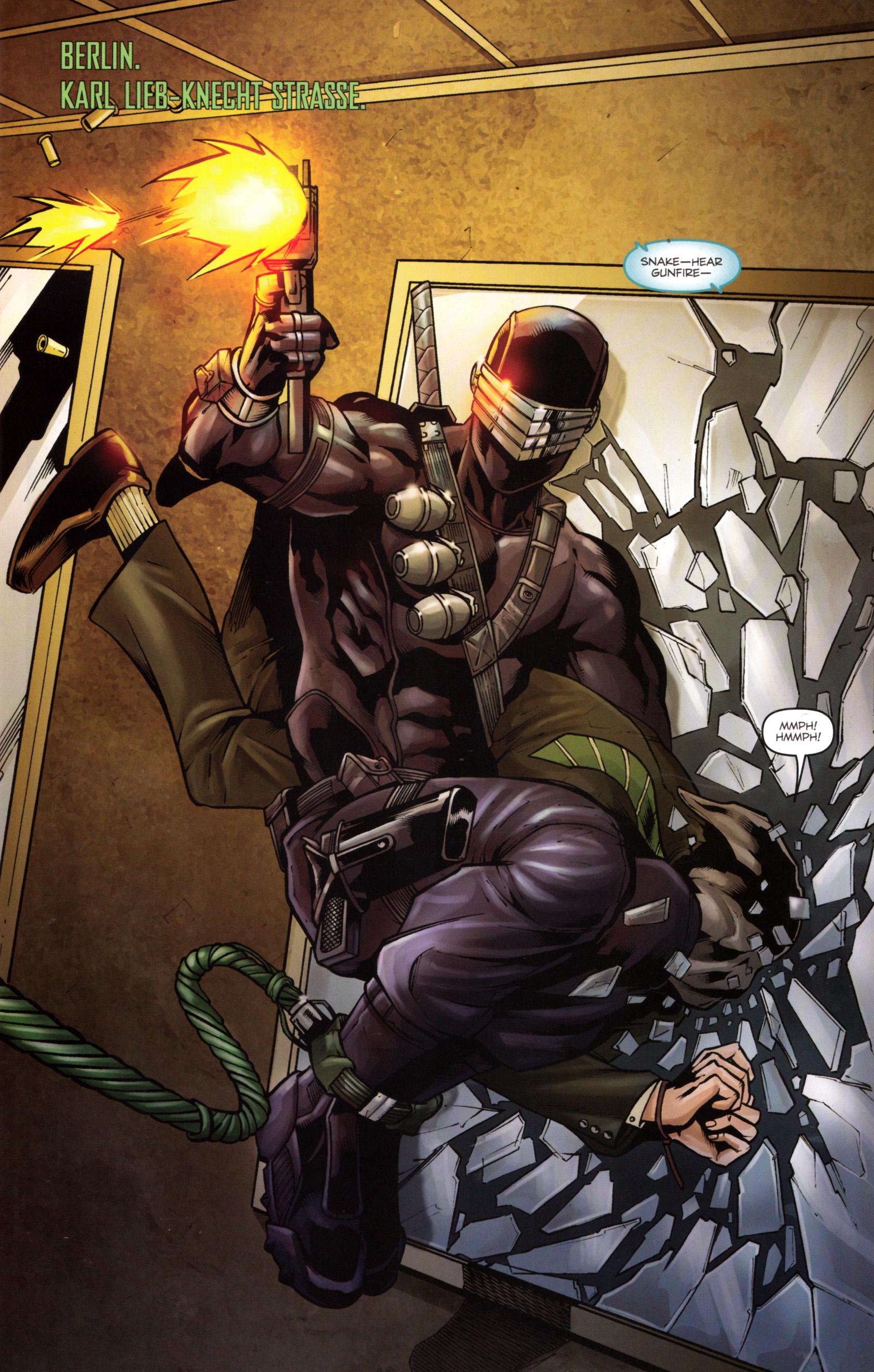 Read online G.I. Joe: Snake Eyes comic -  Issue #5 - 4