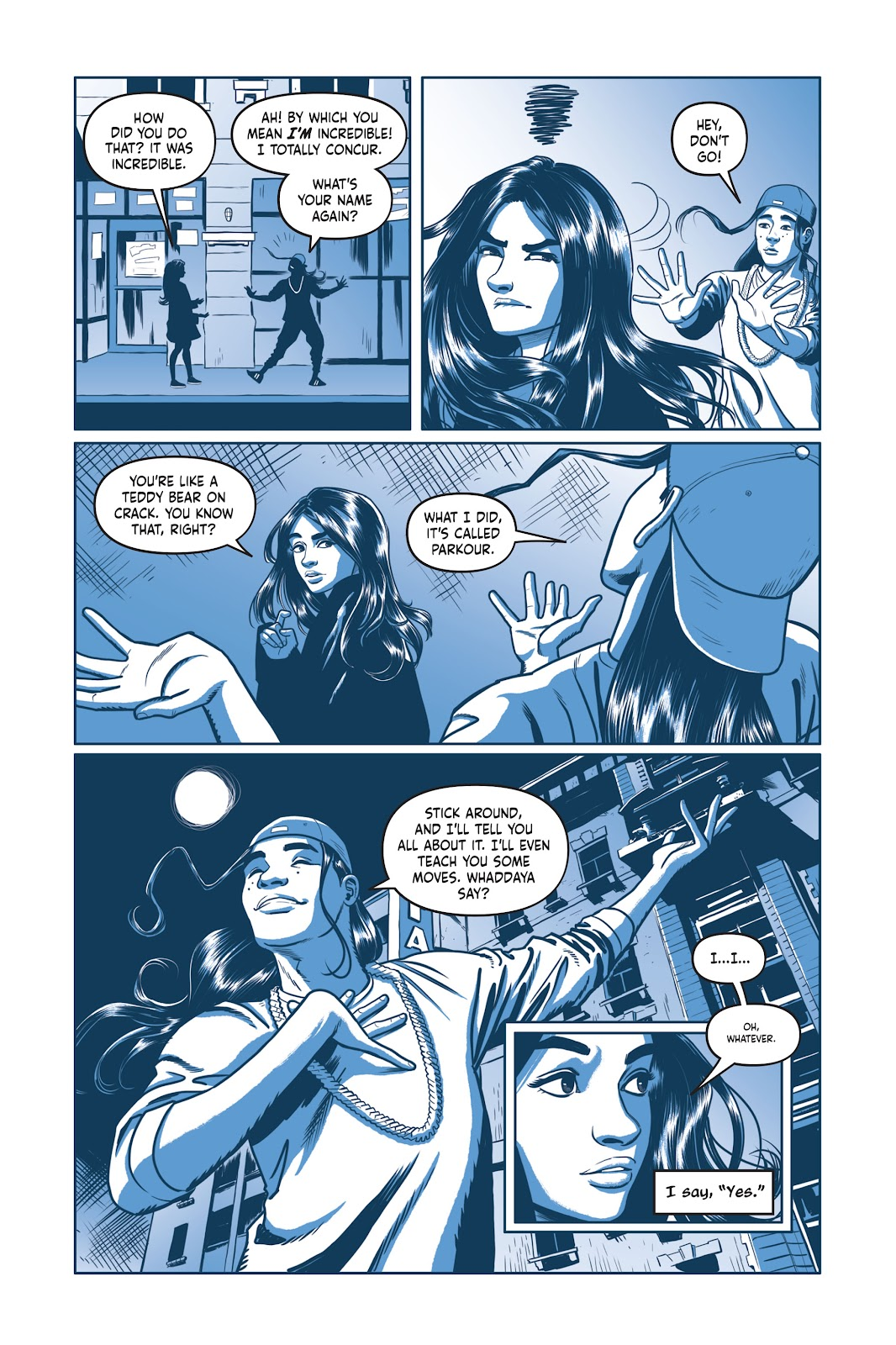 Read online Under the Moon: A Catwoman Tale comic -  Issue # TPB (Part 1) - 87