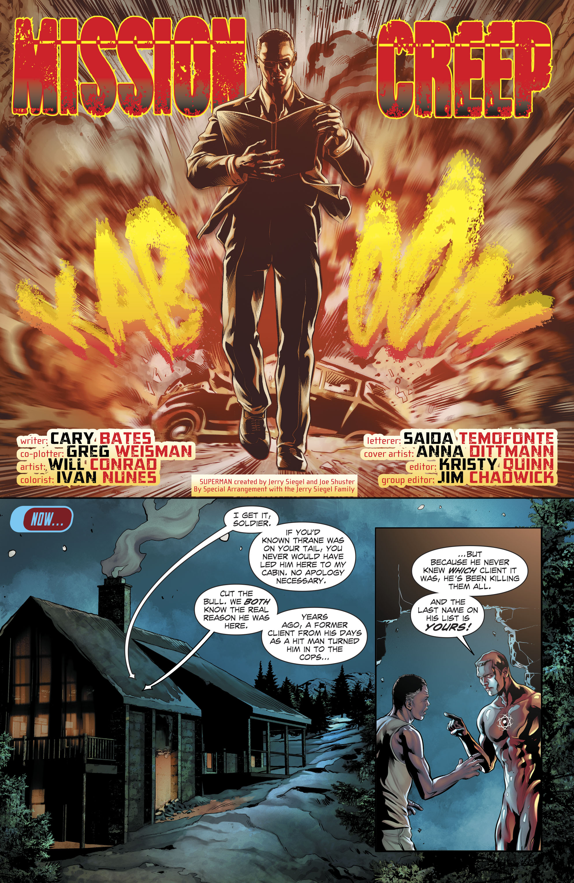 Read online The Fall and Rise of Captain Atom comic -  Issue #6 - 5