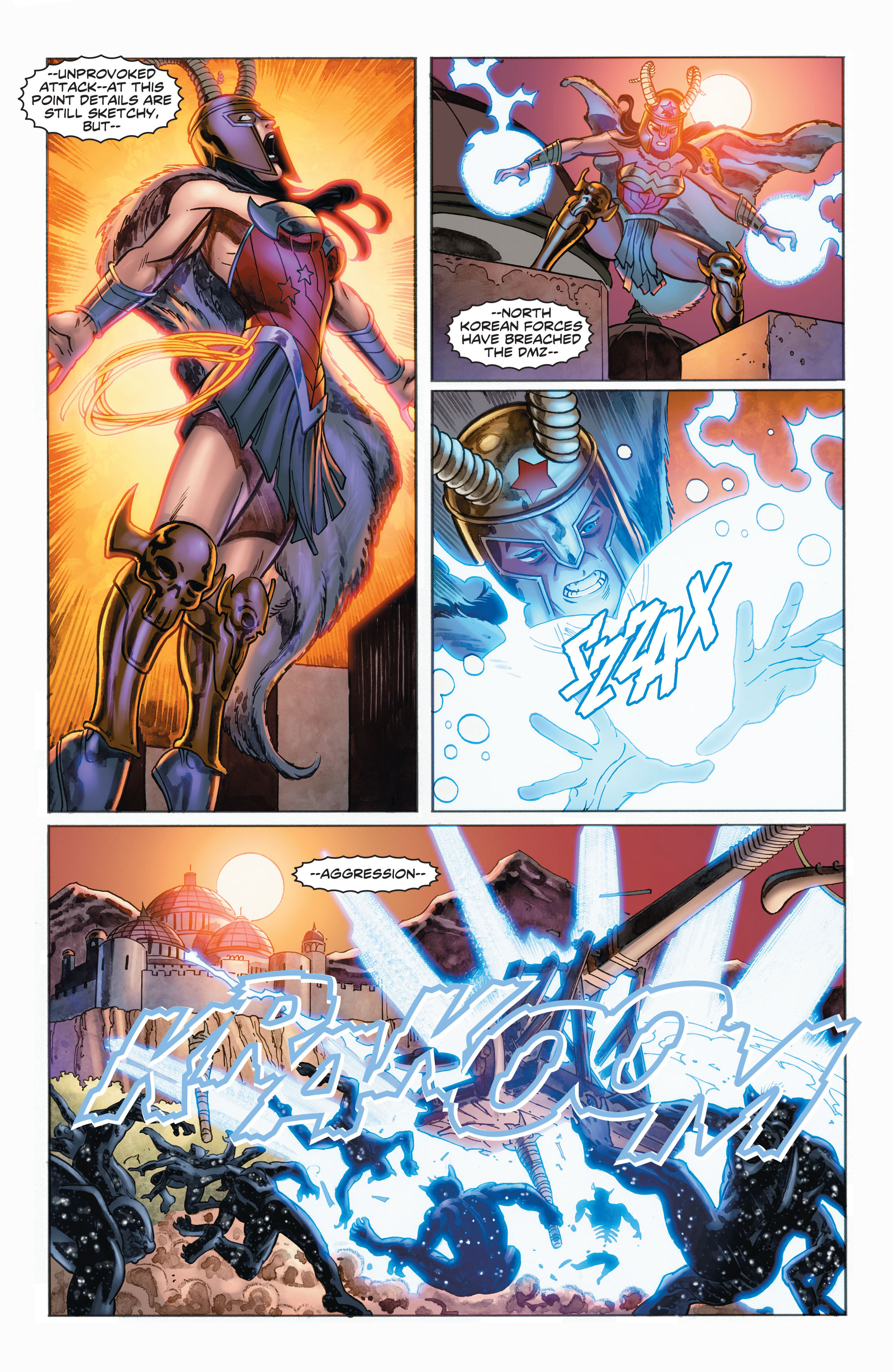 Read online Wonder Woman: Futures End comic -  Issue # Full - 19