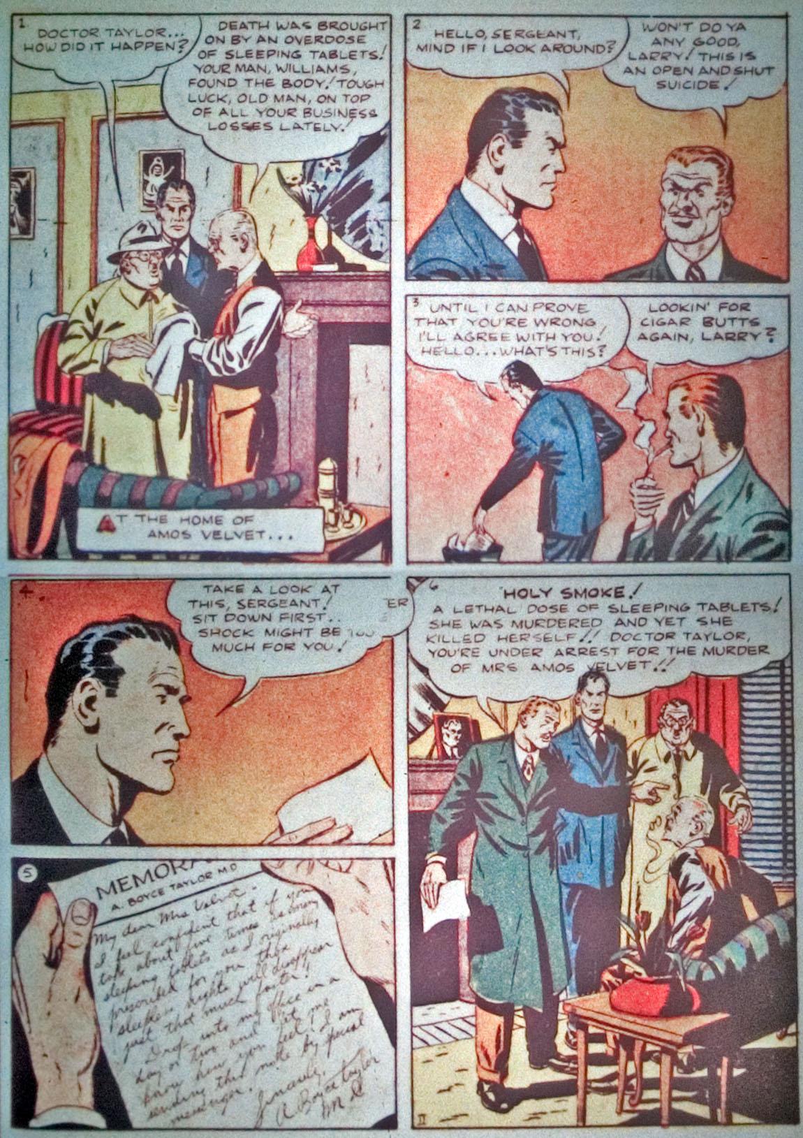 Read online Detective Comics (1937) comic -  Issue #31 - 29