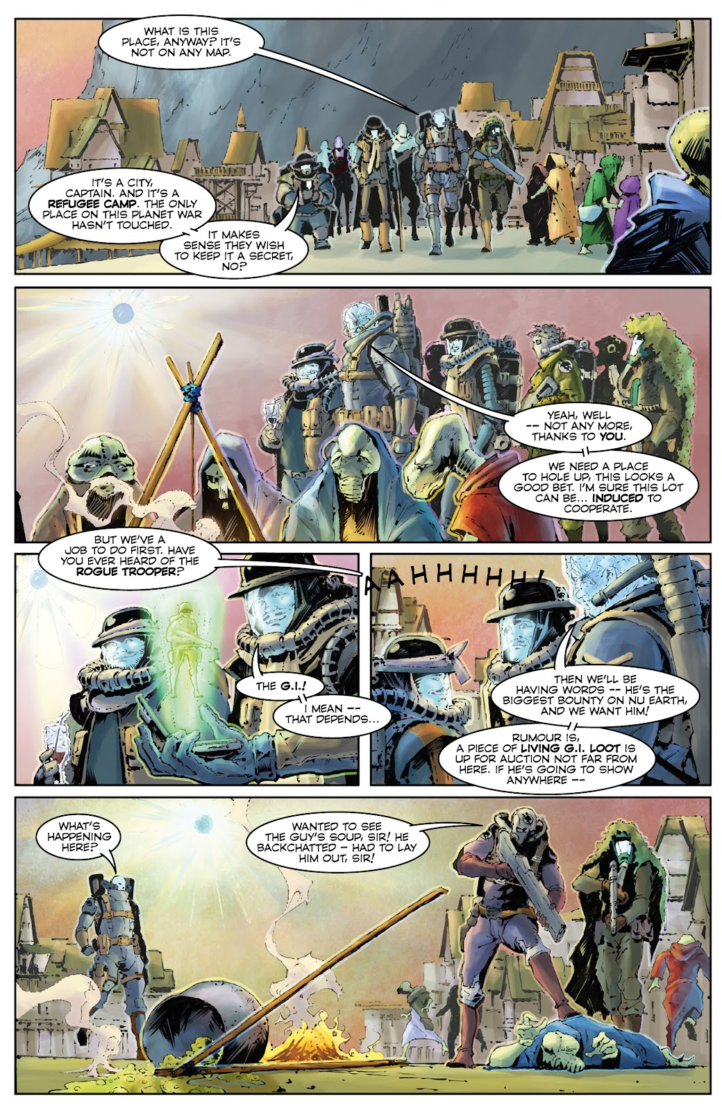 Read online 2000 AD Villains Special comic -  Issue # Full - 12