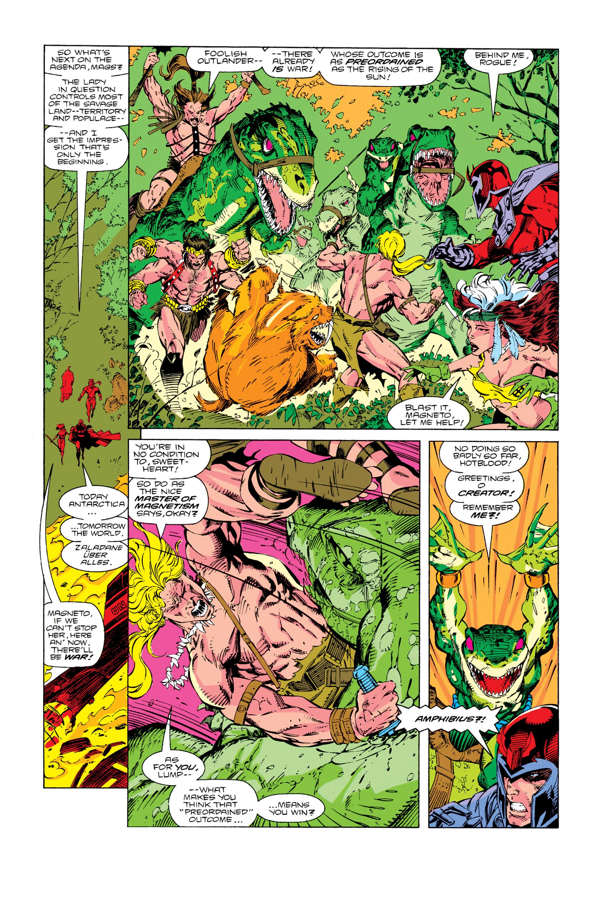 Read online Uncanny X-Men (1963) comic -  Issue #274 - 4
