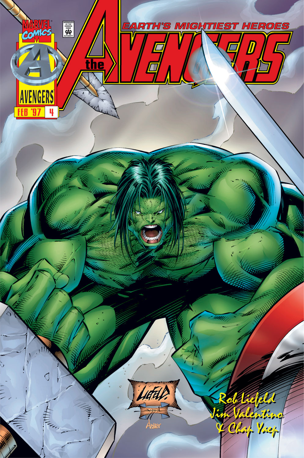 Read online Avengers (1996) comic -  Issue #4 - 1