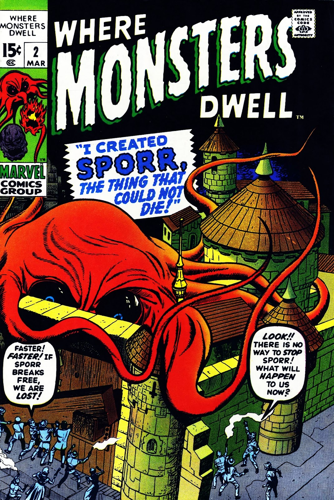 Where Monsters Dwell (1970) issue 2 - Page 1