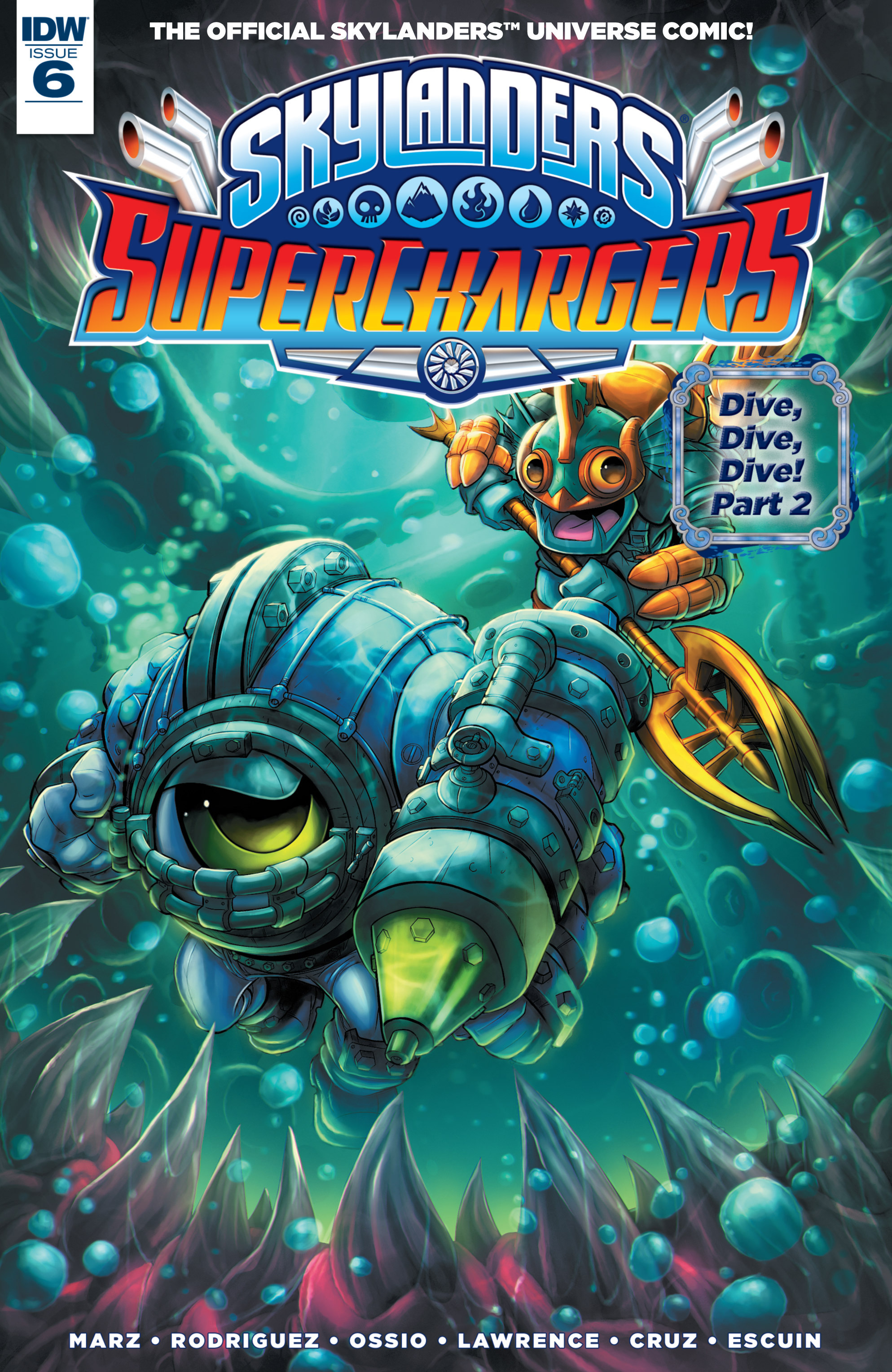 Skylanders Superchargers issue 6 - Page 1