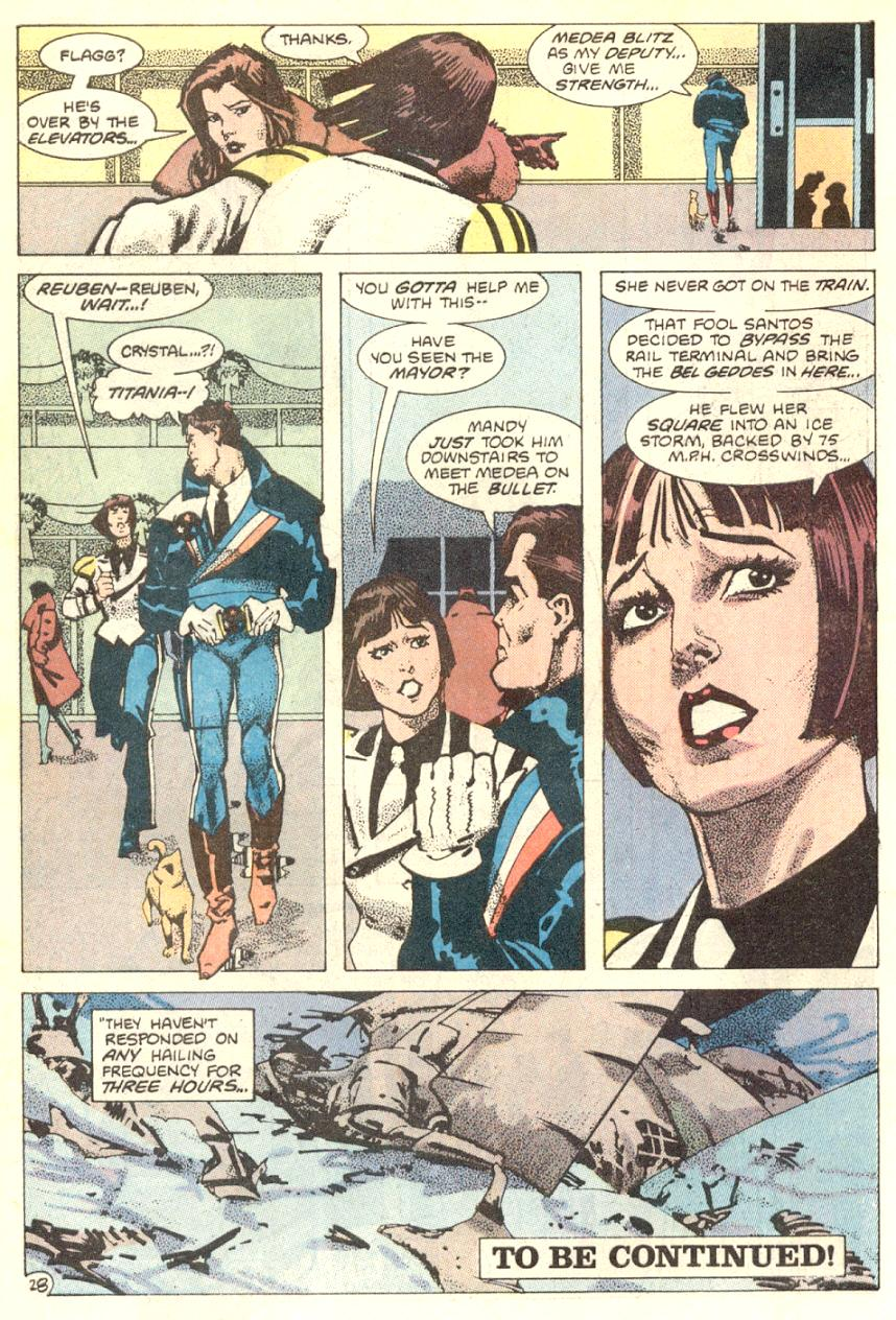 Read online American Flagg! comic -  Issue #7 - 29
