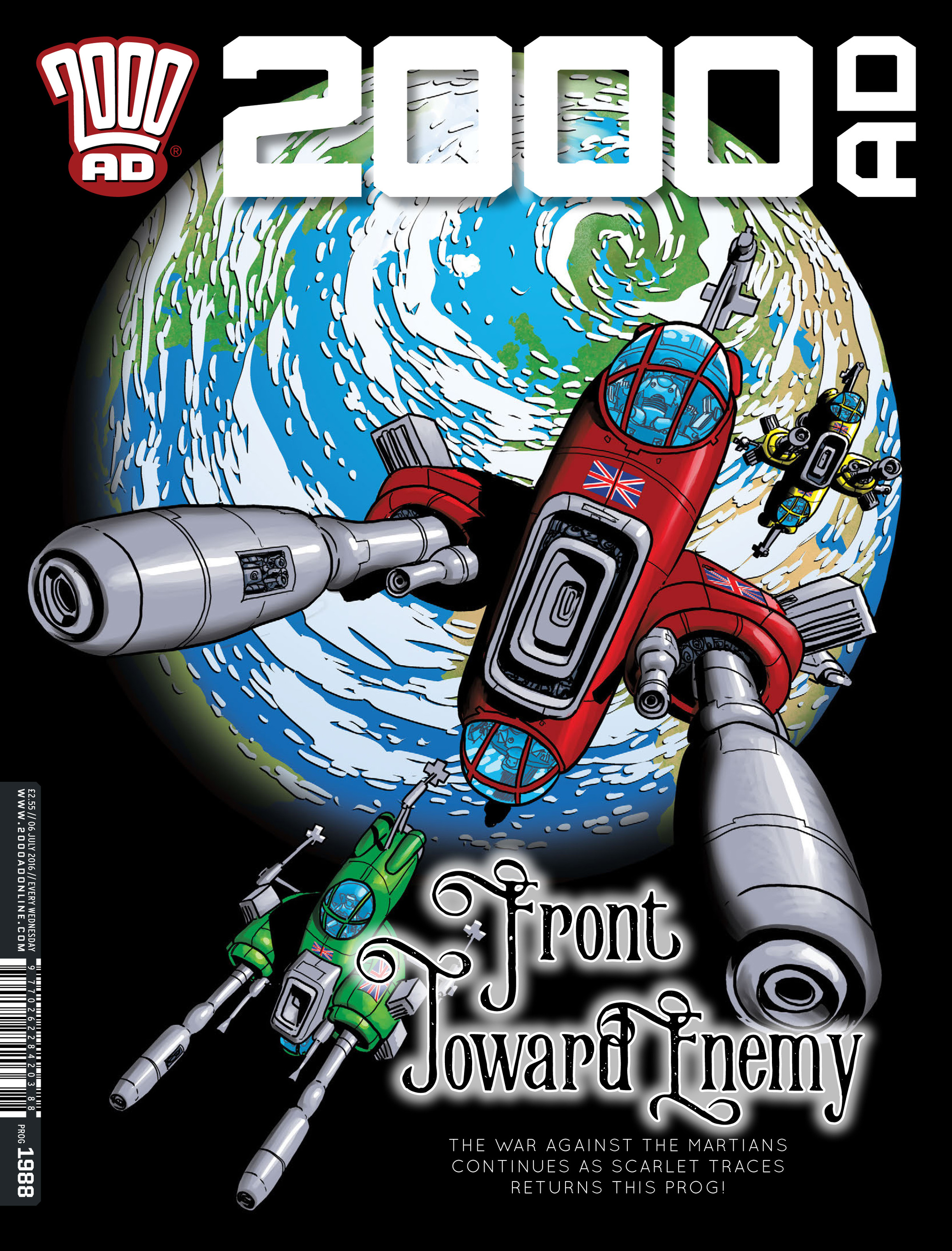 Read online 2000 AD comic -  Issue #1988 - 1