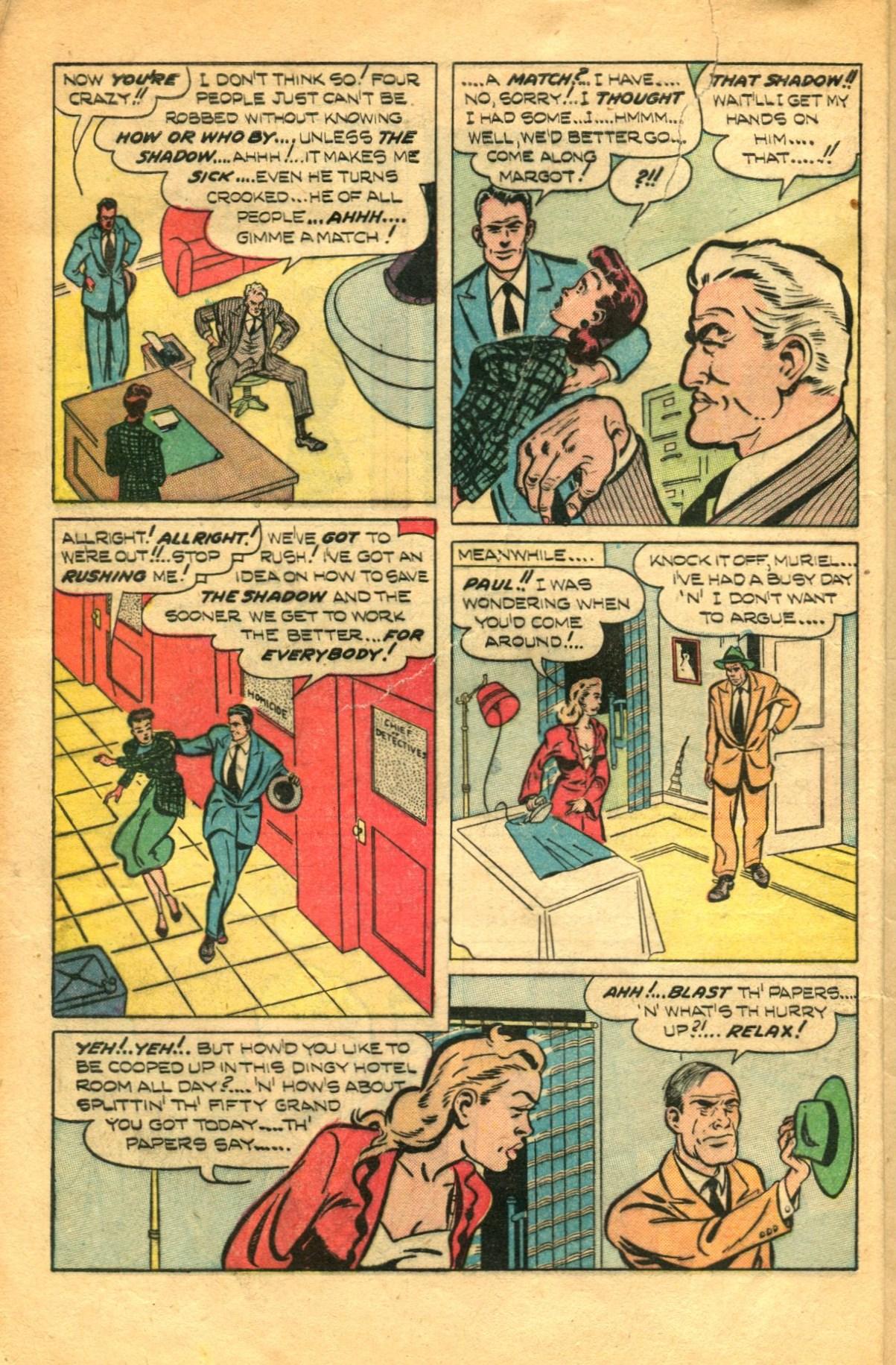 Read online Shadow Comics comic -  Issue #91 - 8