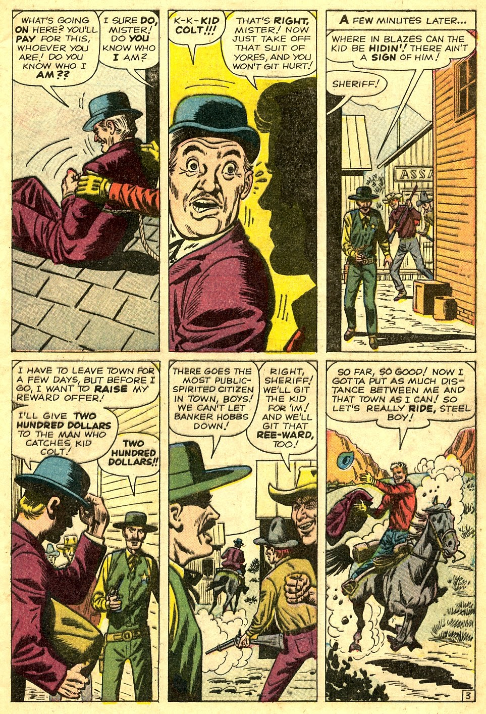 Kid Colt Outlaw issue 108 - Page 5