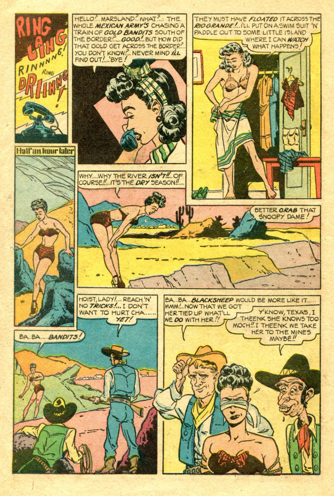 Read online Shadow Comics comic -  Issue #75 - 11