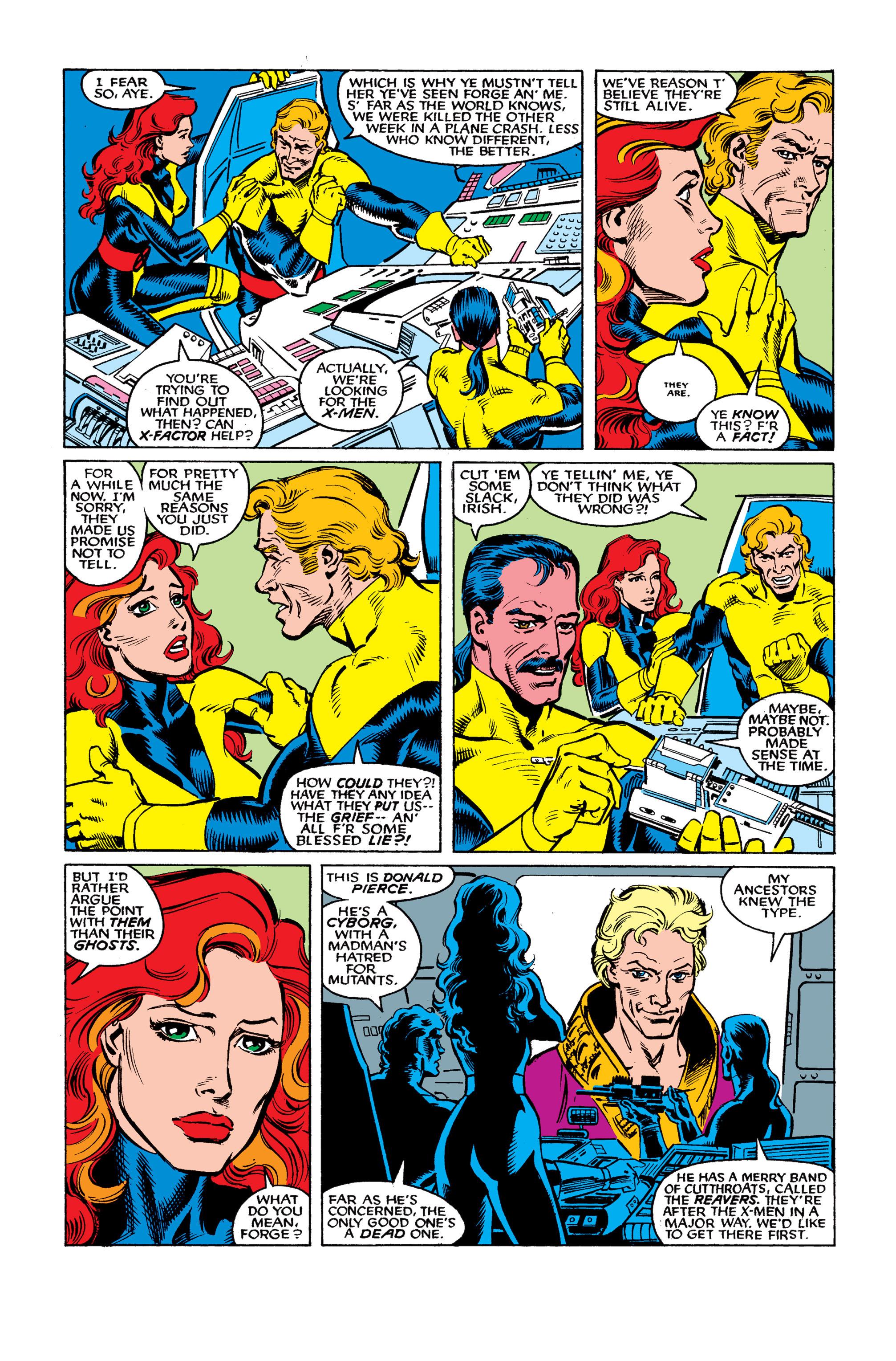 Read online Uncanny X-Men (1963) comic -  Issue #262 - 6