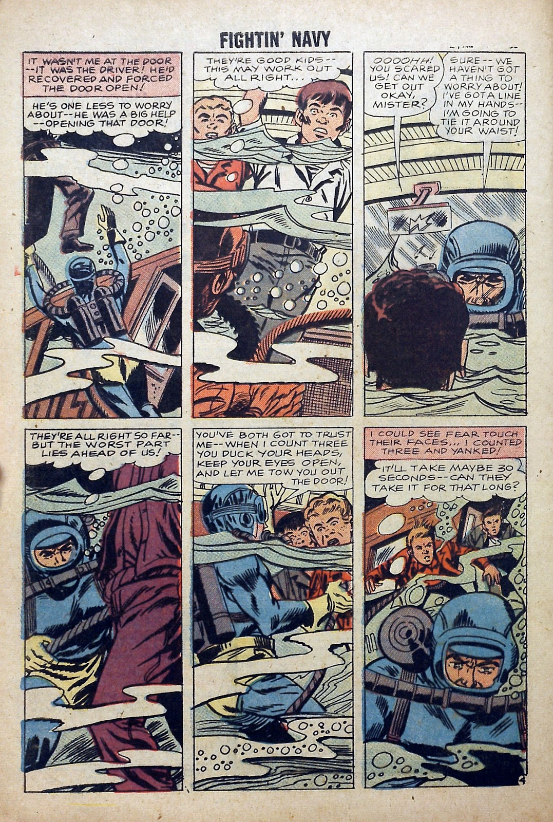 Read online Fightin' Navy comic -  Issue #84 - 32