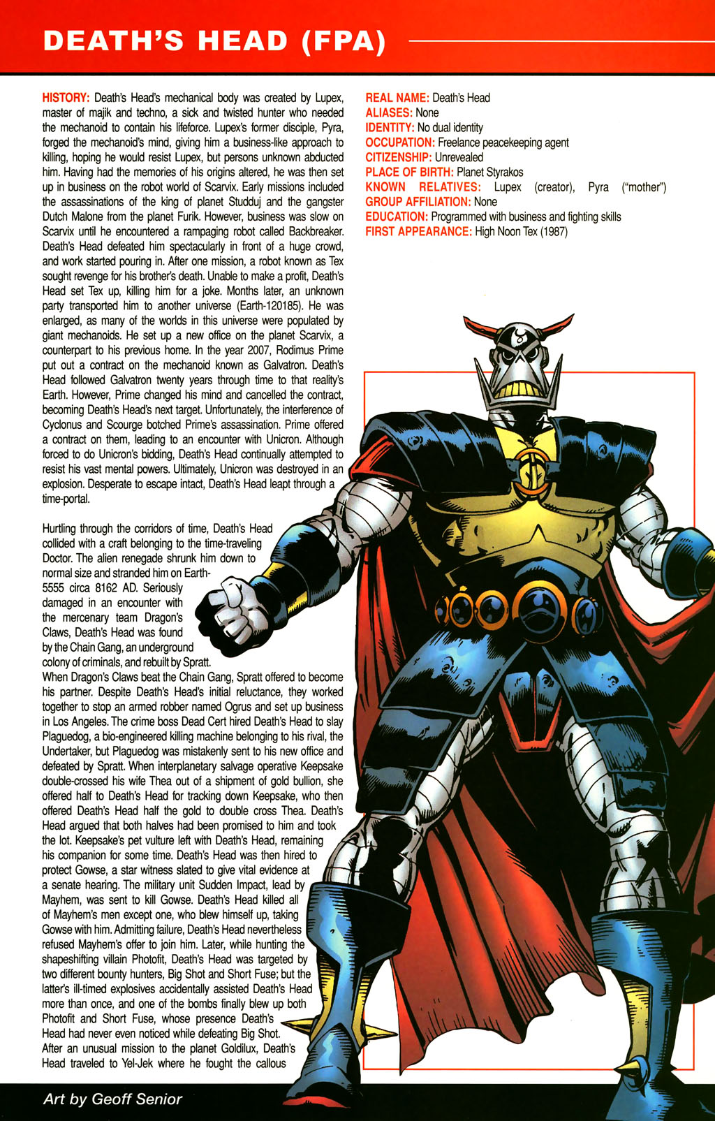 Read online All-New Official Handbook of the Marvel Universe A to Z comic -  Issue #3 - 33