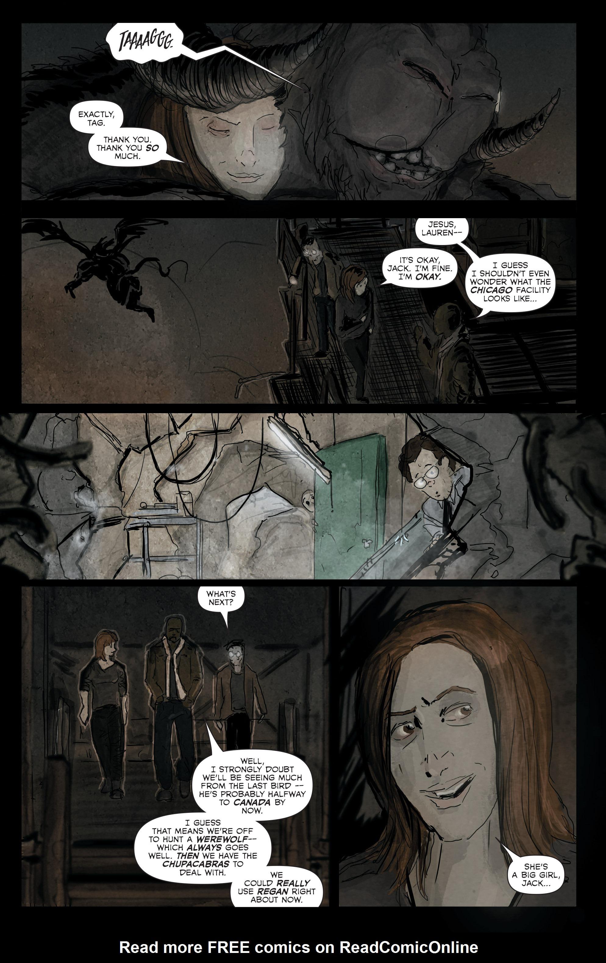 Read online Hoax Hunters (2012) comic -  Issue # TPB 3 - 45