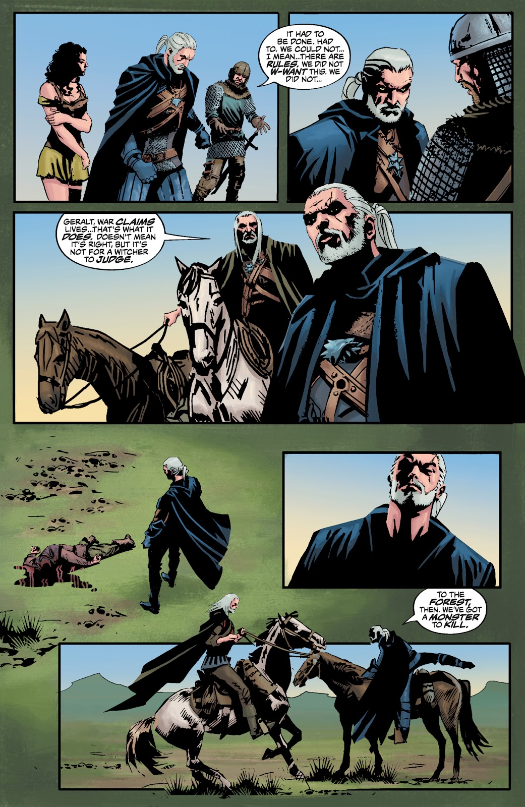 Read online The Witcher Omnibus comic -  Issue # TPB (Part 3) - 82