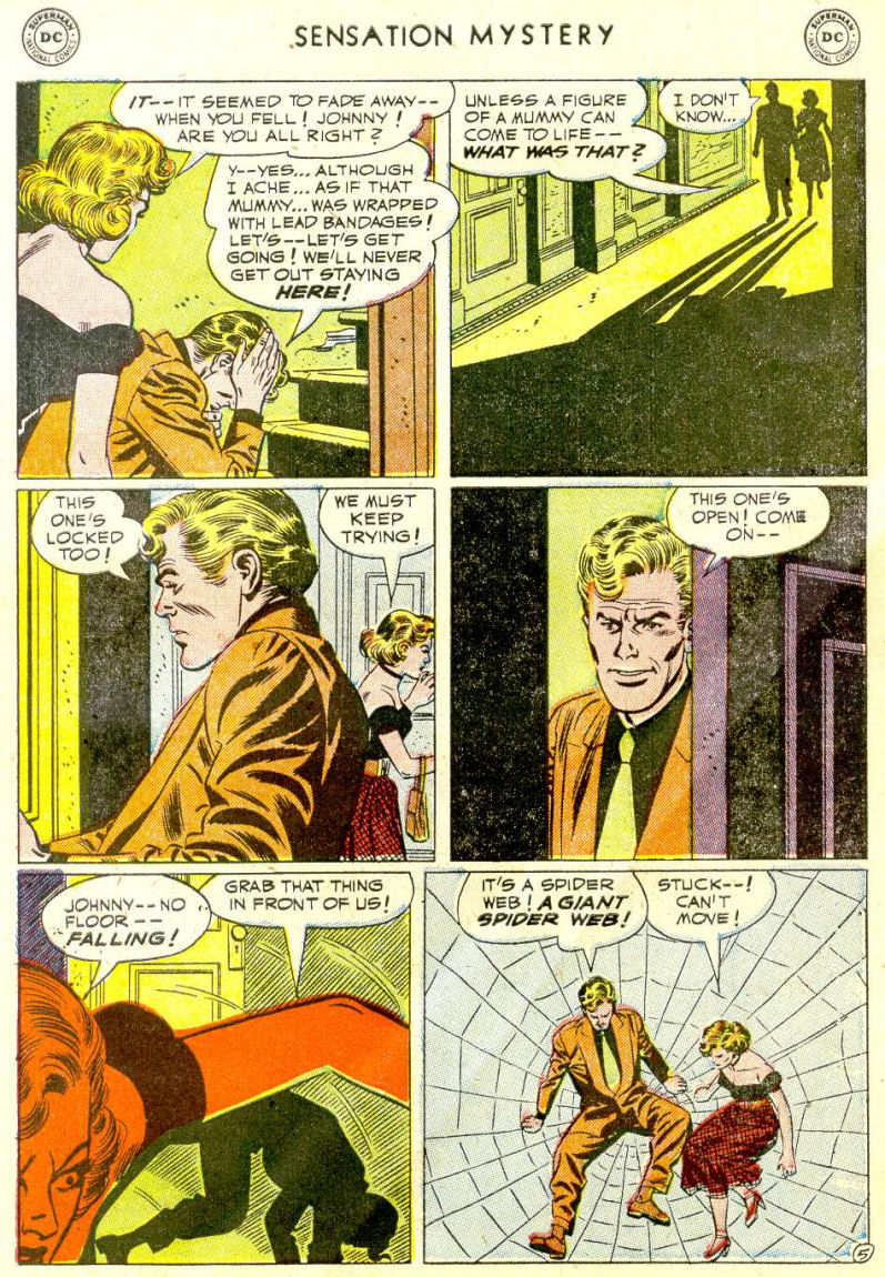 Read online Sensation (Mystery) Comics comic -  Issue #112 - 7