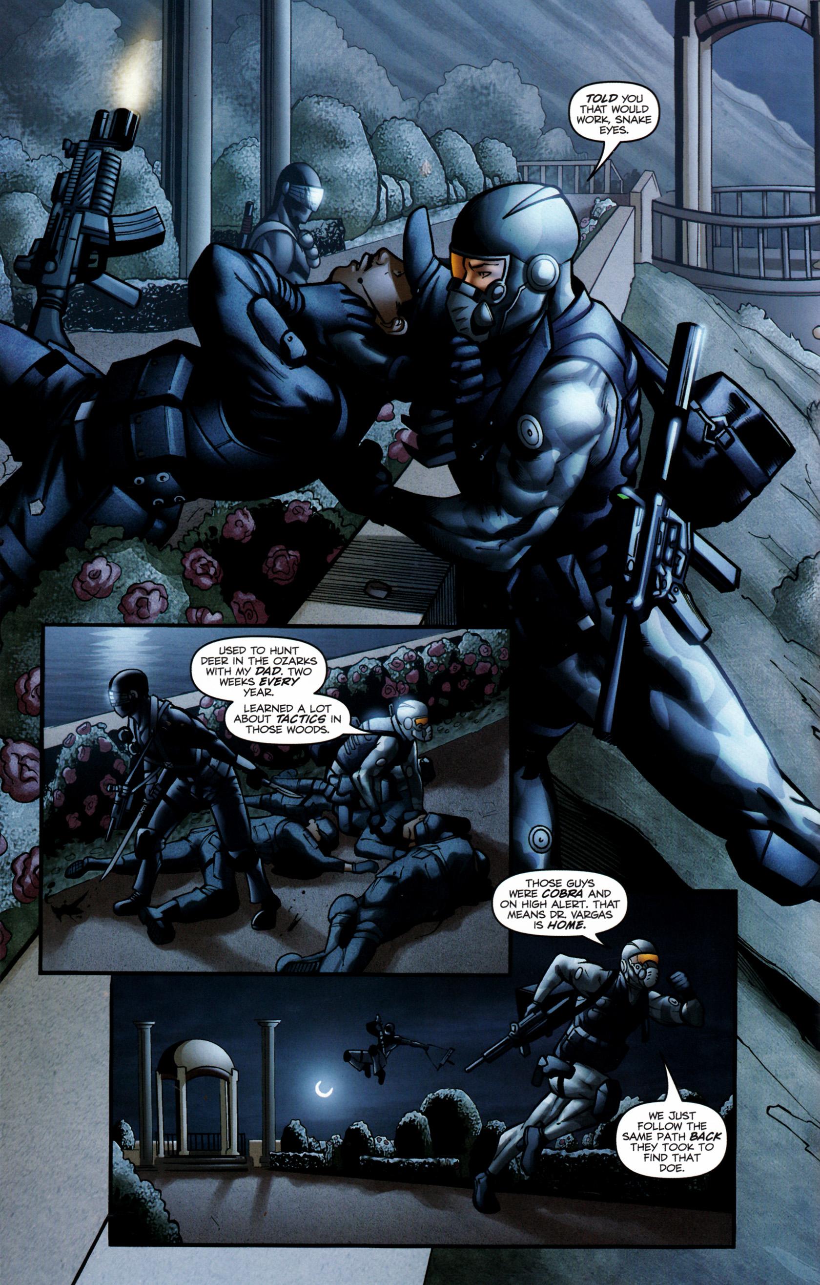 Read online G.I. Joe: Snake Eyes comic -  Issue #6 - 11